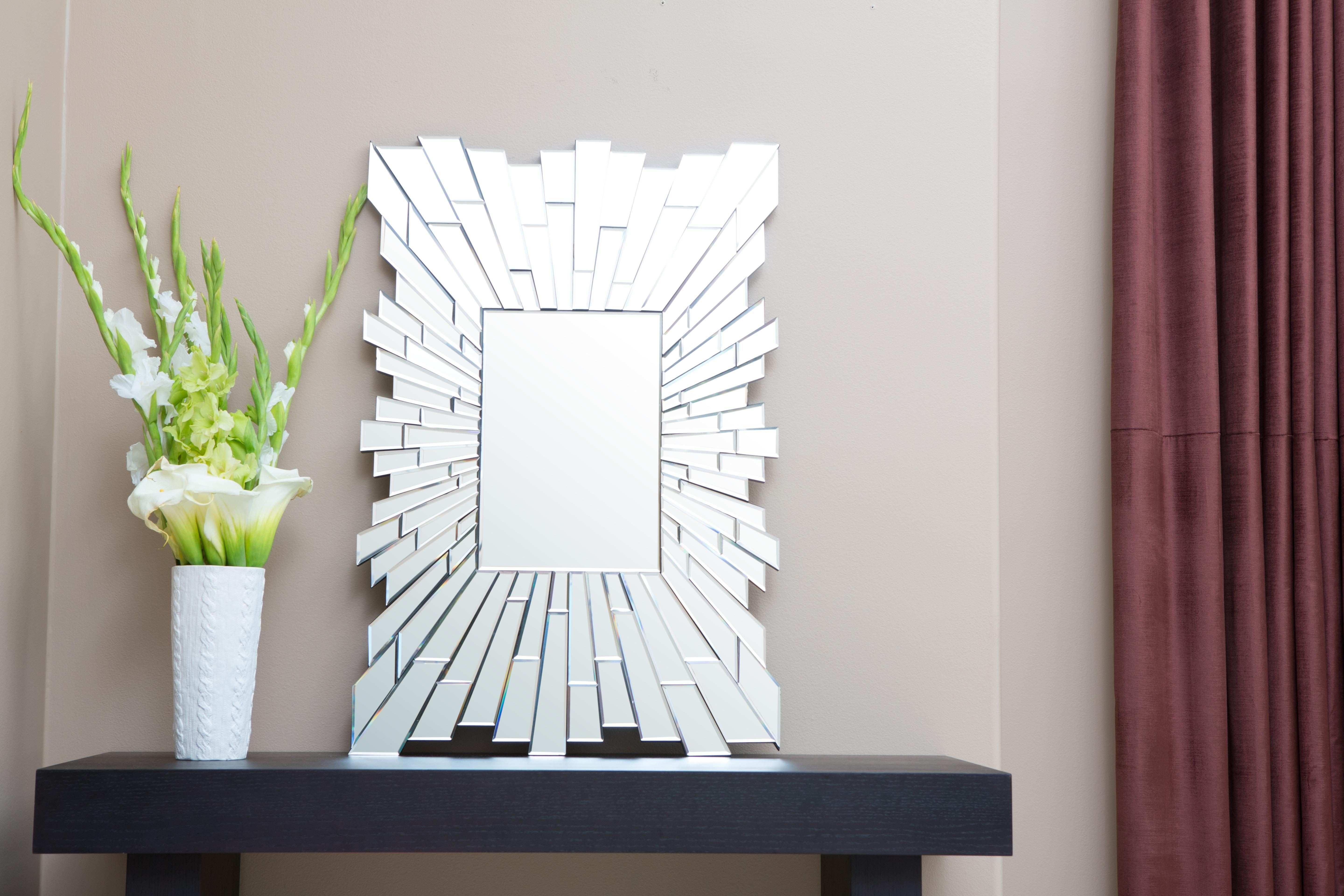 Larisa Rectangle Wall Mirror by Abbyson Living