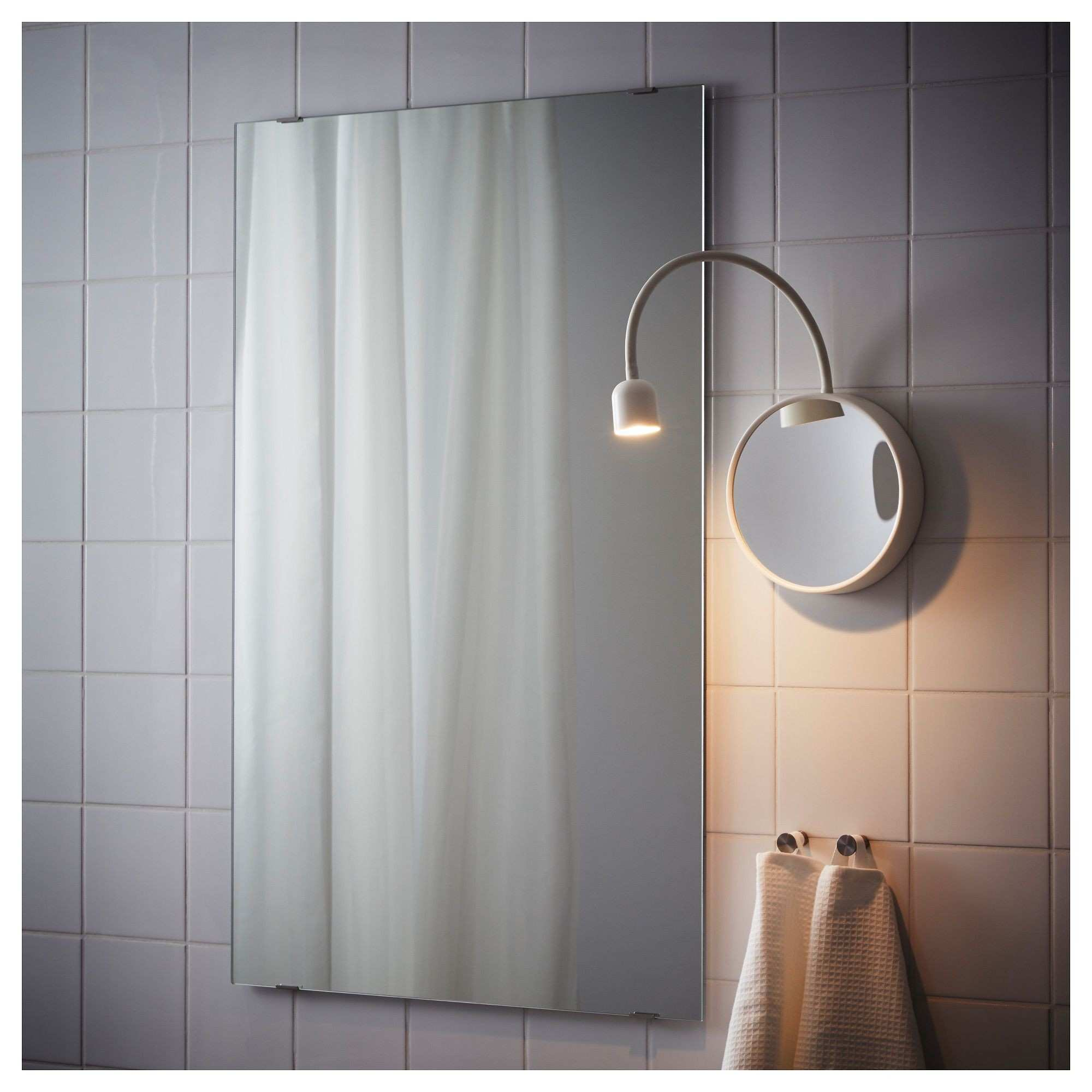 Ikea Led Lampen Auf Gut Bl…vik Led Wall Lamp with Mirror Battery