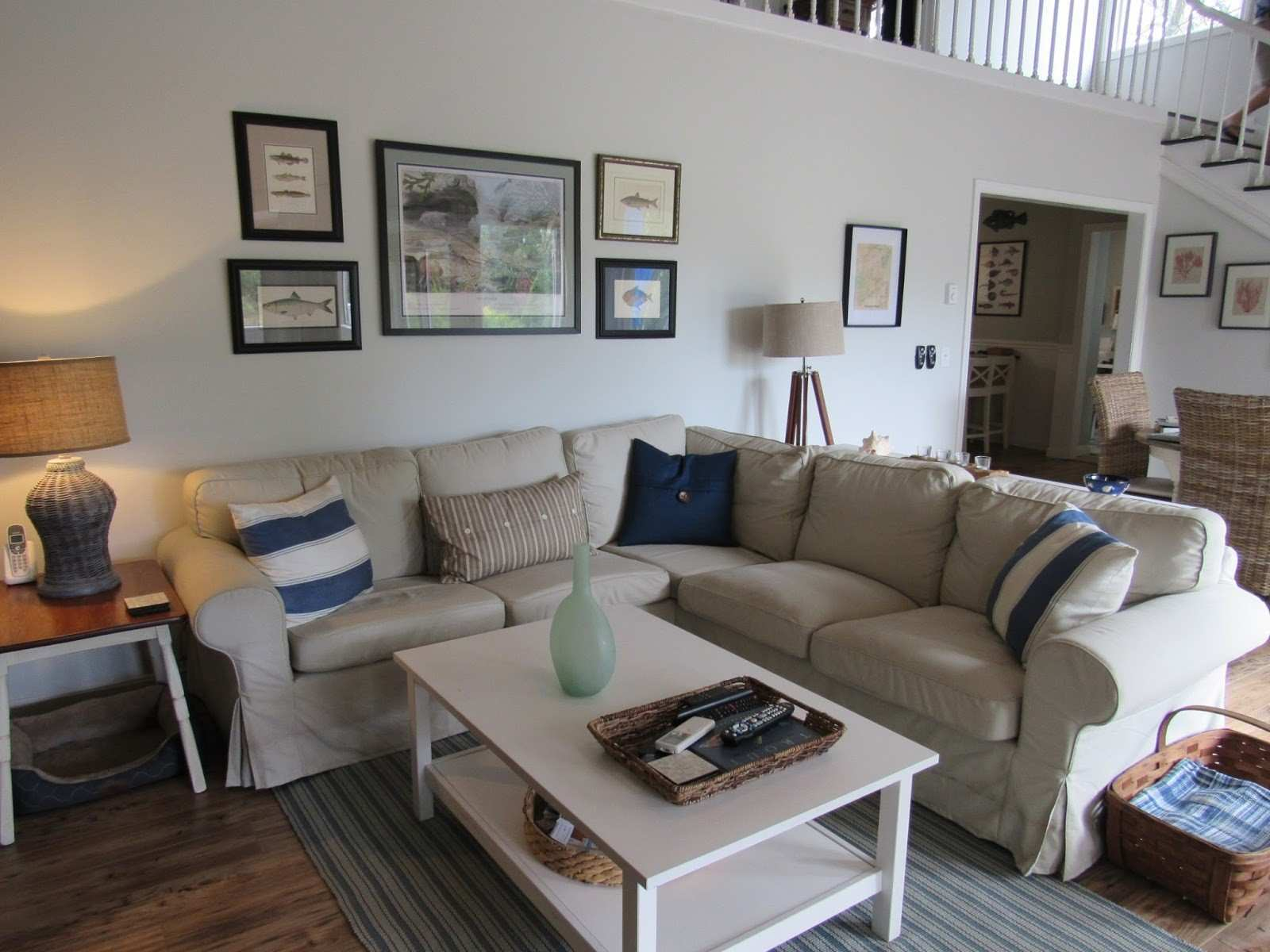 Salt Marsh Cottage Tips for Creating a Gallery Wall