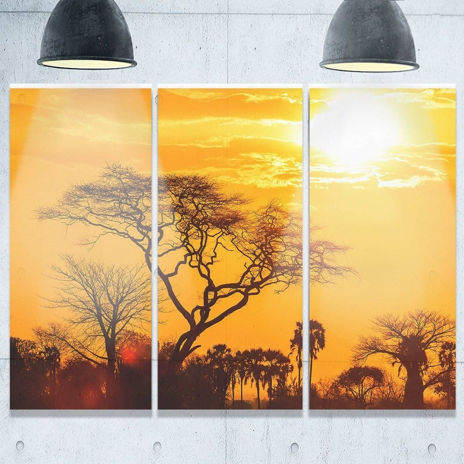 33 Lovely Decmode Metal Wall Decor
