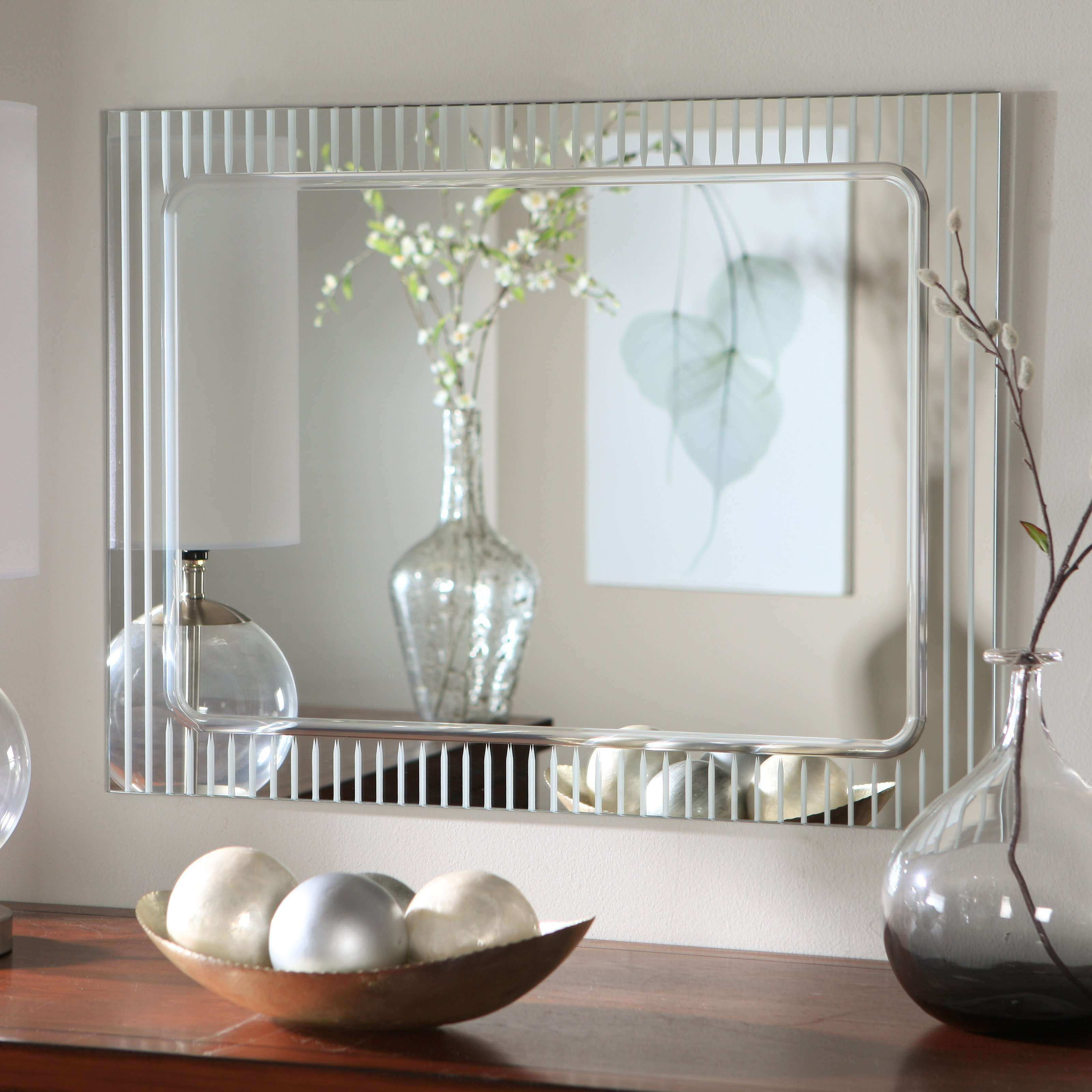 Bedroom Wall Mirrors Decorative Awesome Homey Ideas Bathroom Mirror