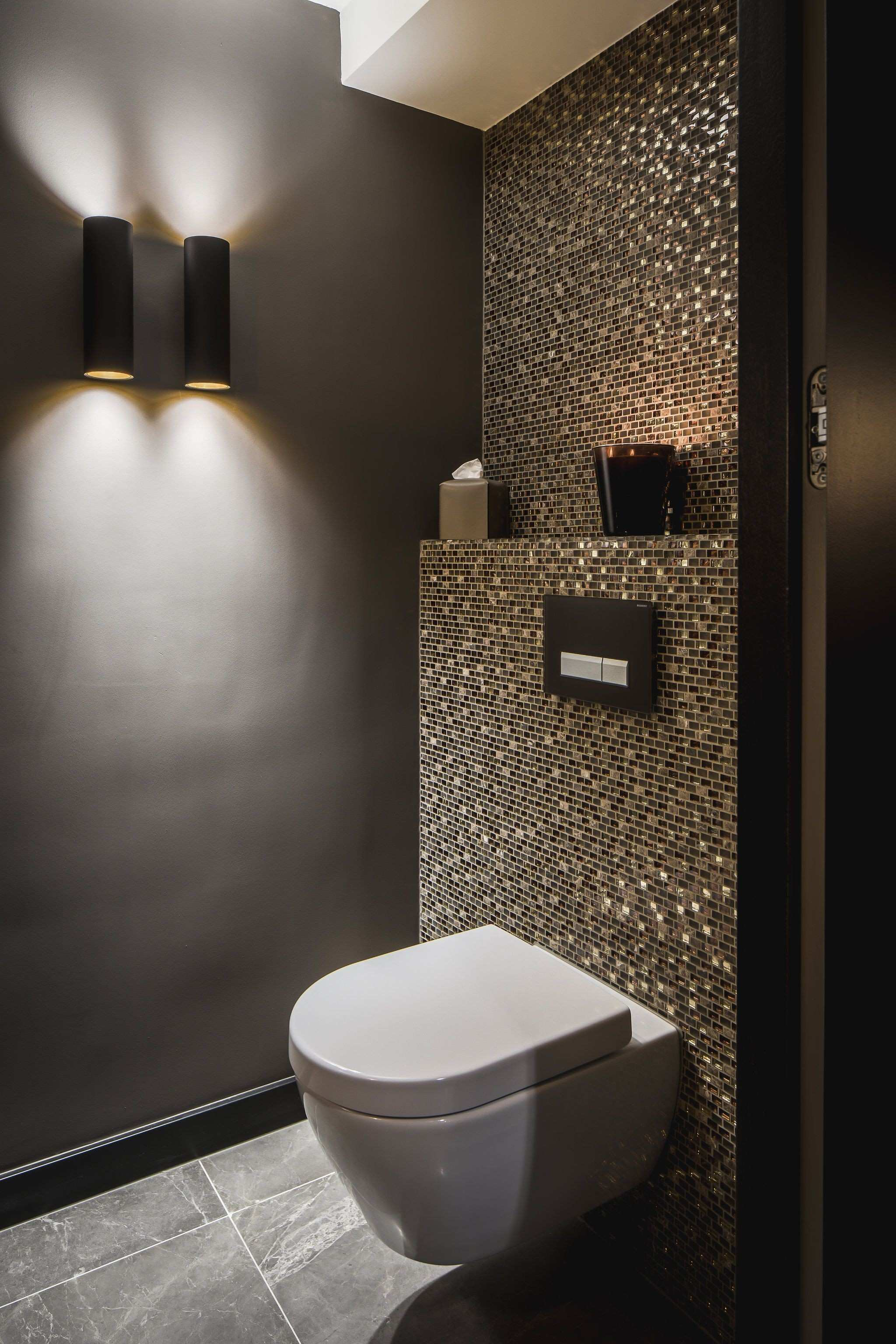 Understated glamour in your bathroom