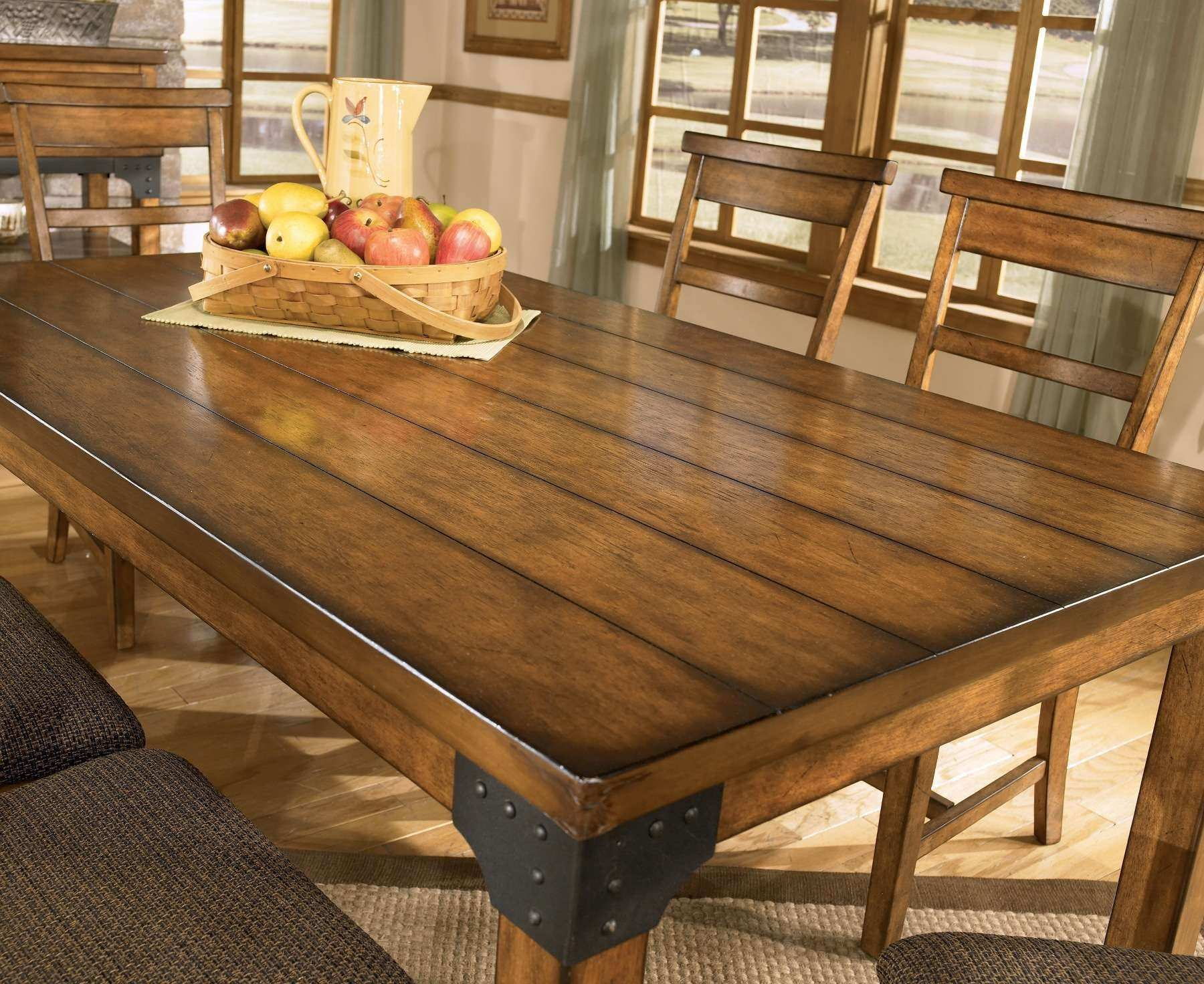 Beautiful Rustic Kitchen Table Plans