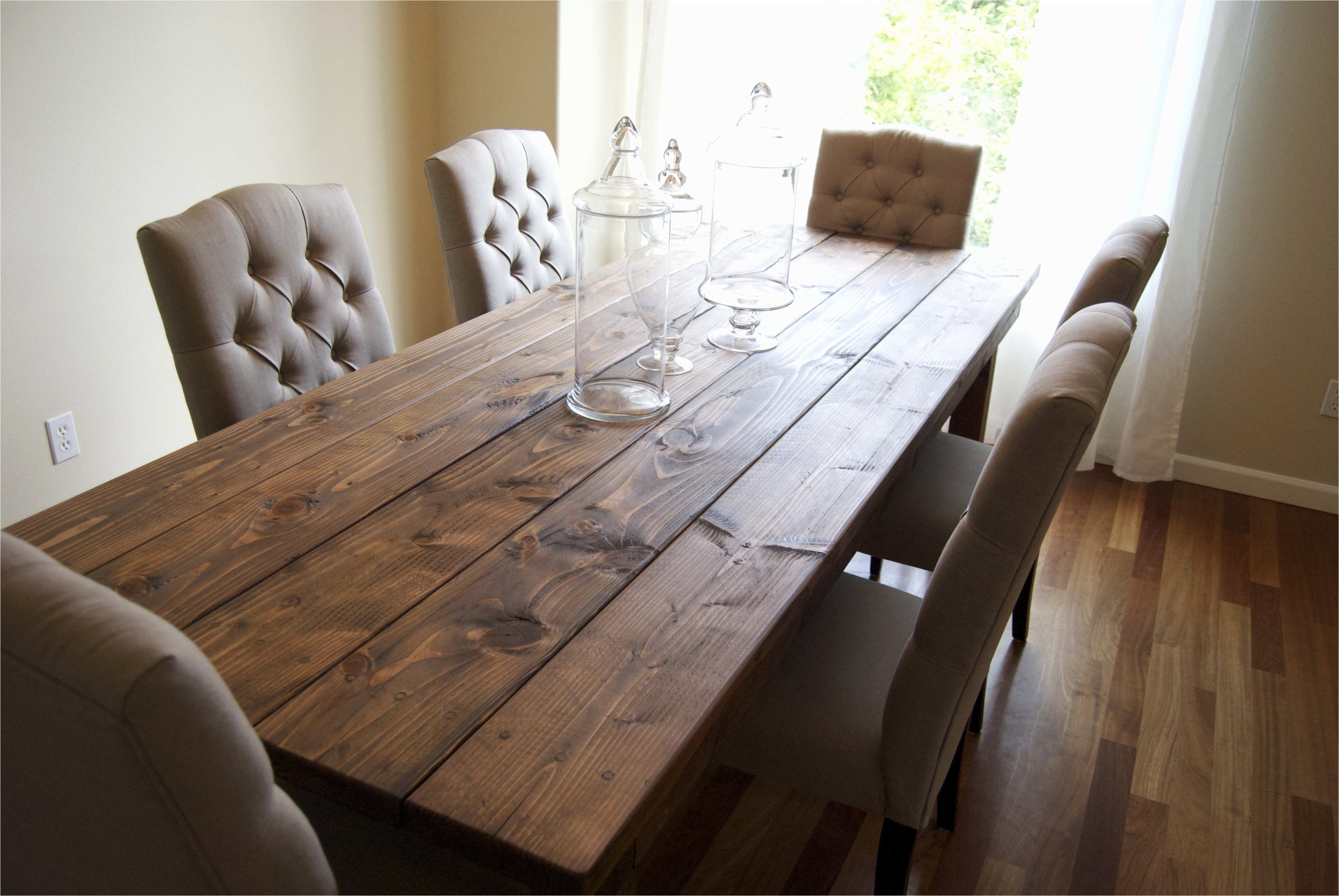 Awesome Reclaimed Wood Farmhouse Dining Table