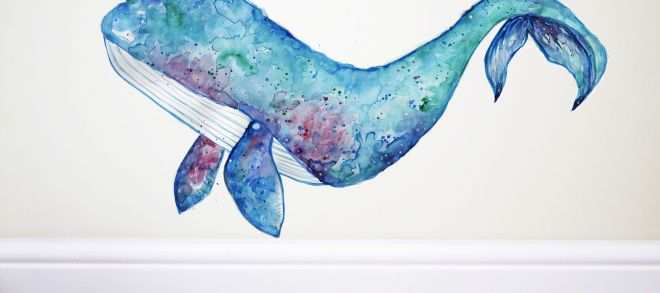 Safari Wall Decals Unique Narwhal Wall Decal Unicorn Whale Whale Wall Decal Whale Sticker