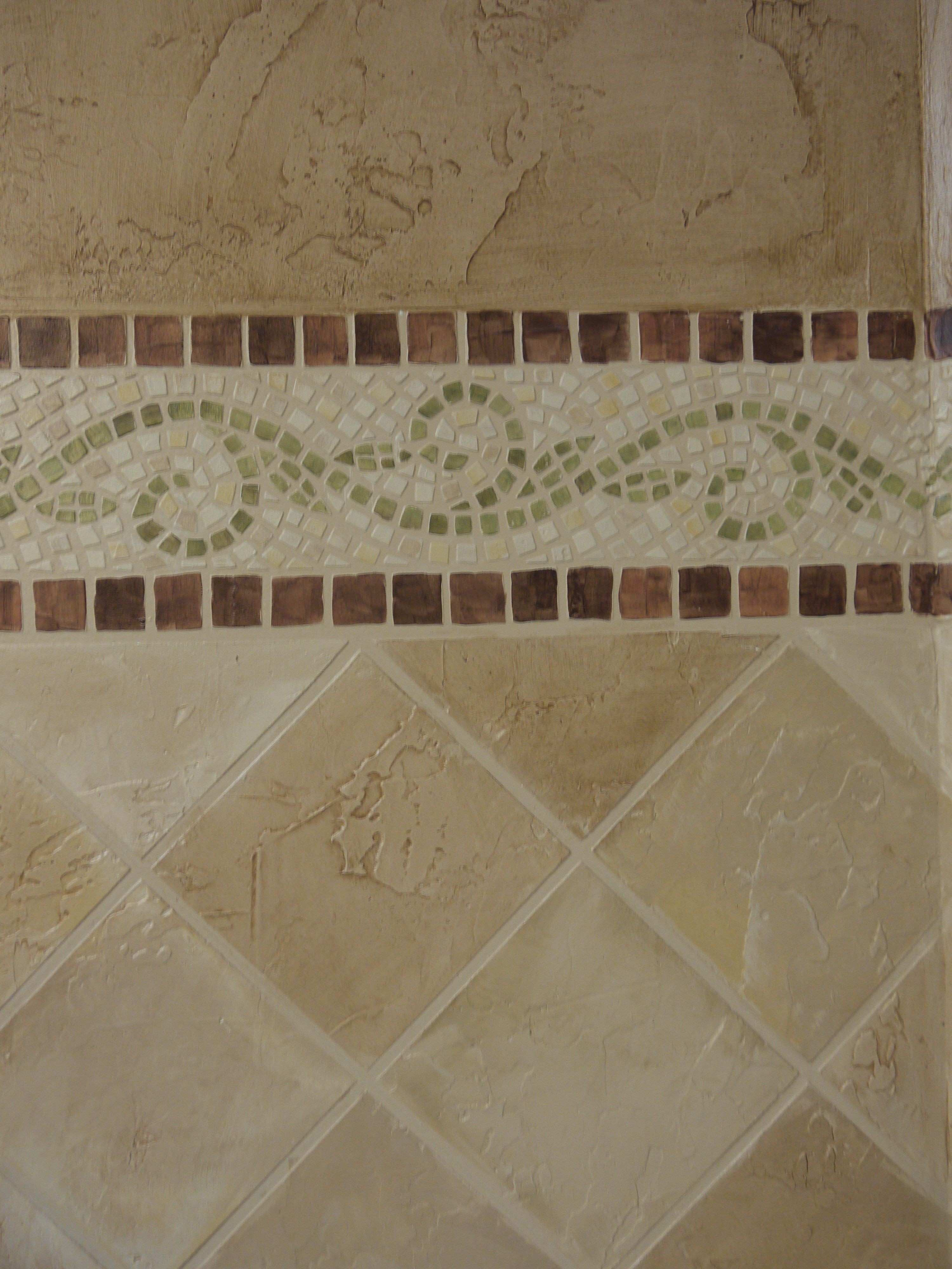 How to How to make Faux Mosaic and Stone tiles using Joint pound