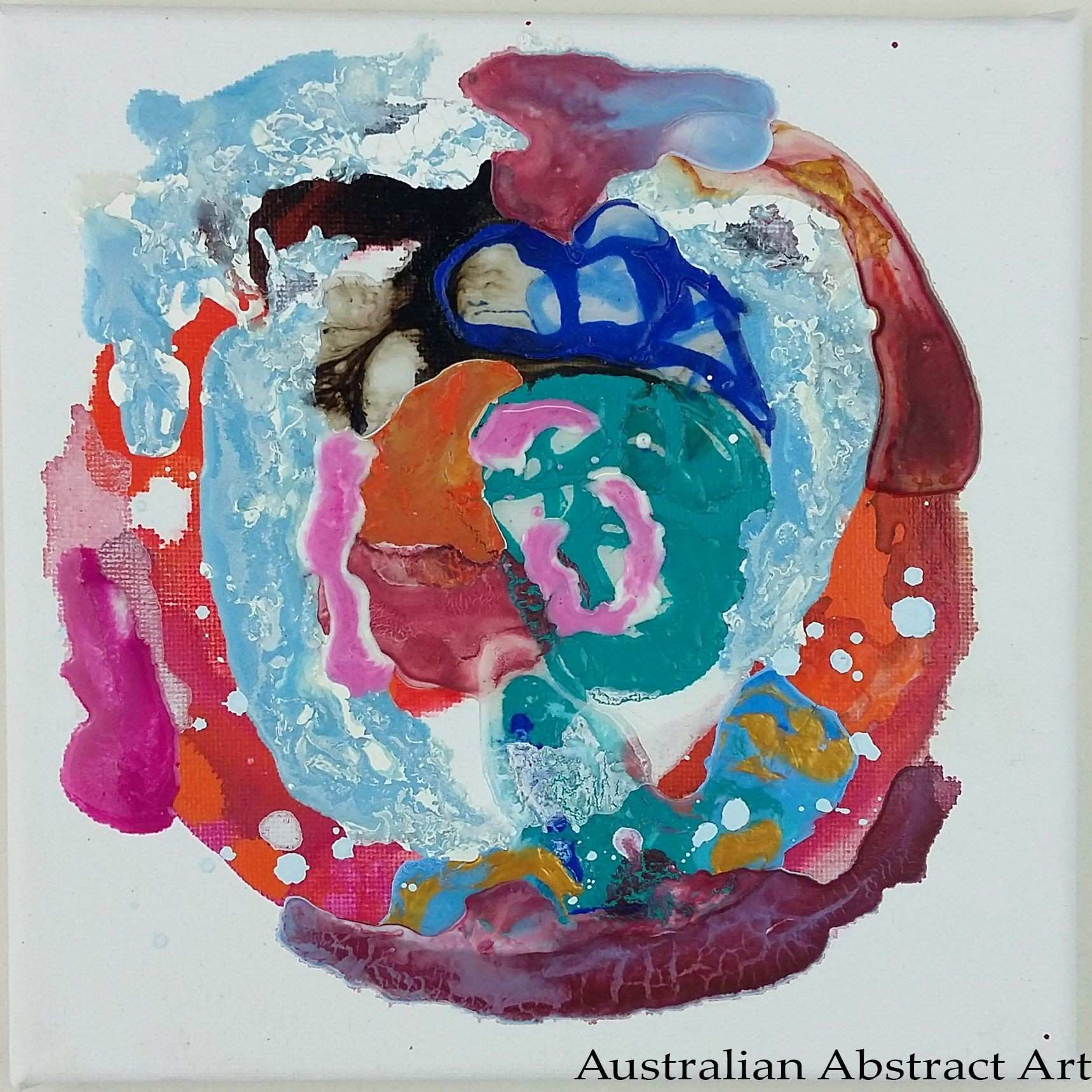 Australian Abstract Art Joy Series Abstract Painting Abstract