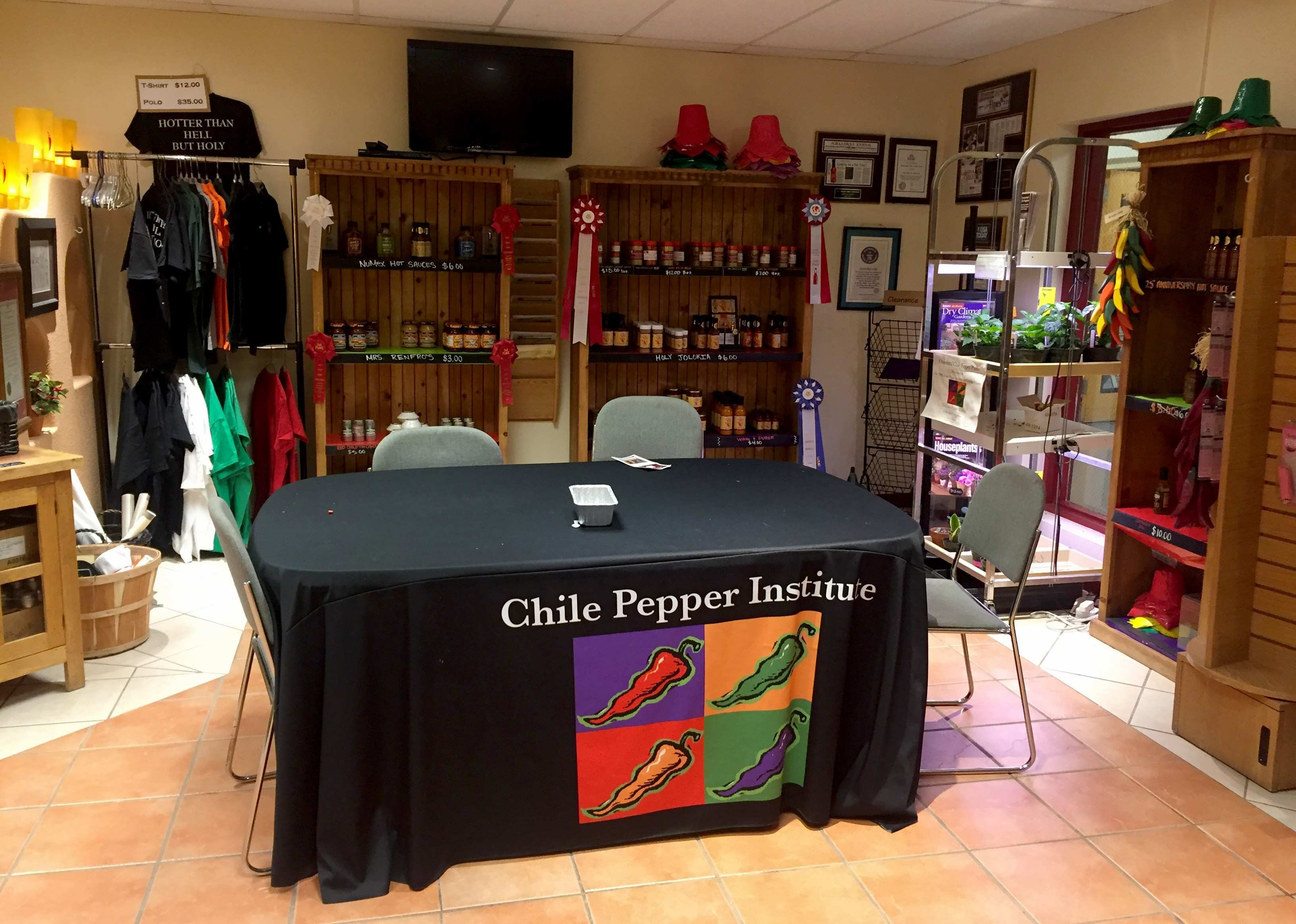 New Mexico State University s Chile Pepper Institute holds summer