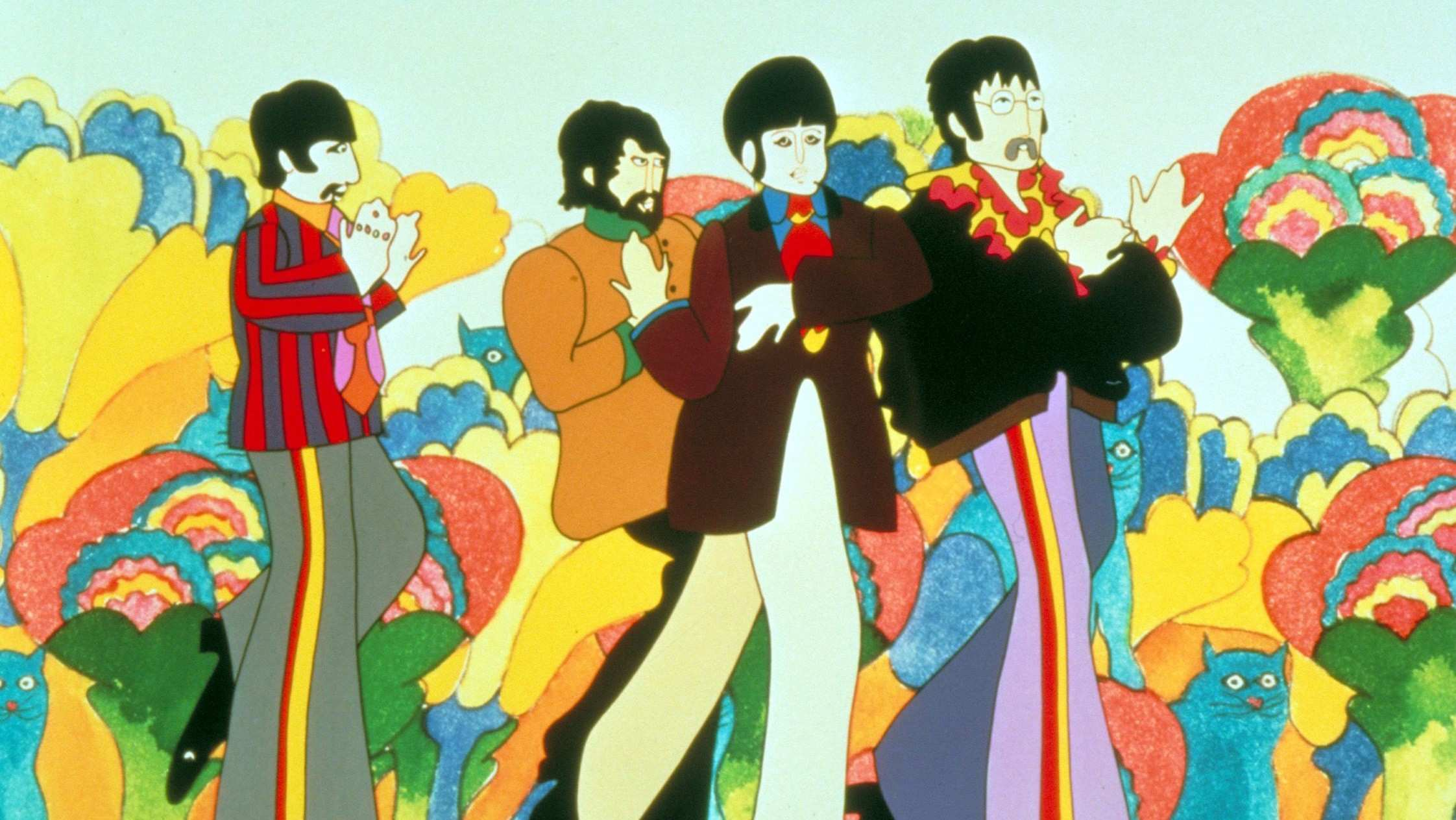 The Beatles Yellow Submarine Set for Re Release in July – Variety