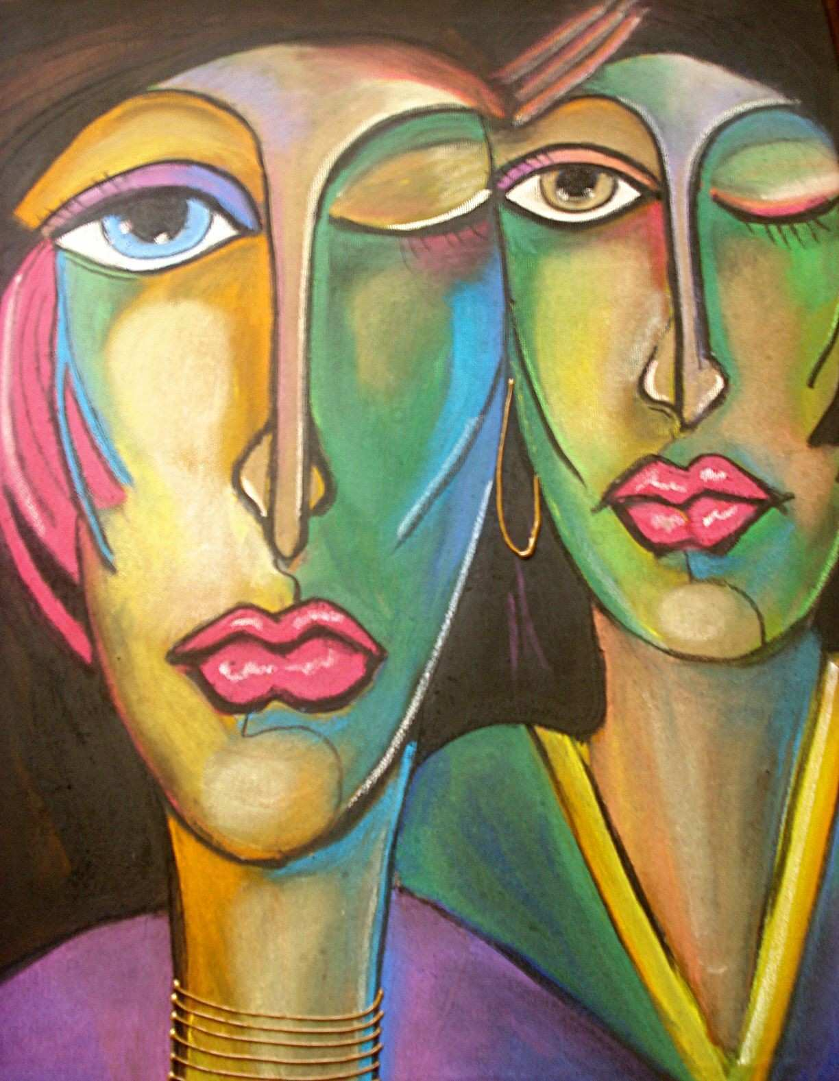 e of my chalk on canvas paintings SOLD cores