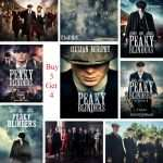 Selling Art Prints Best Of Peaky Blinders Posters Movie White Coated Paper Prints High