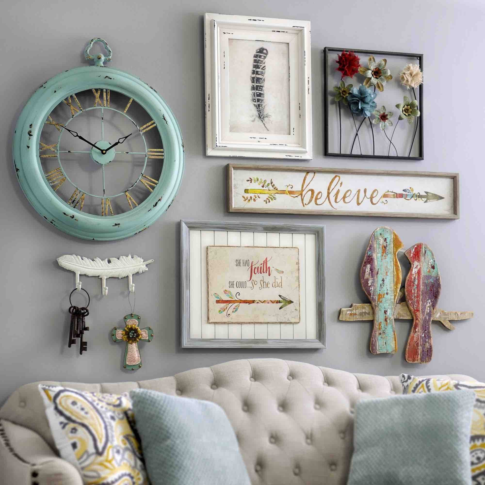 34 Awesome Shabby Chic Wall Decor Ideas