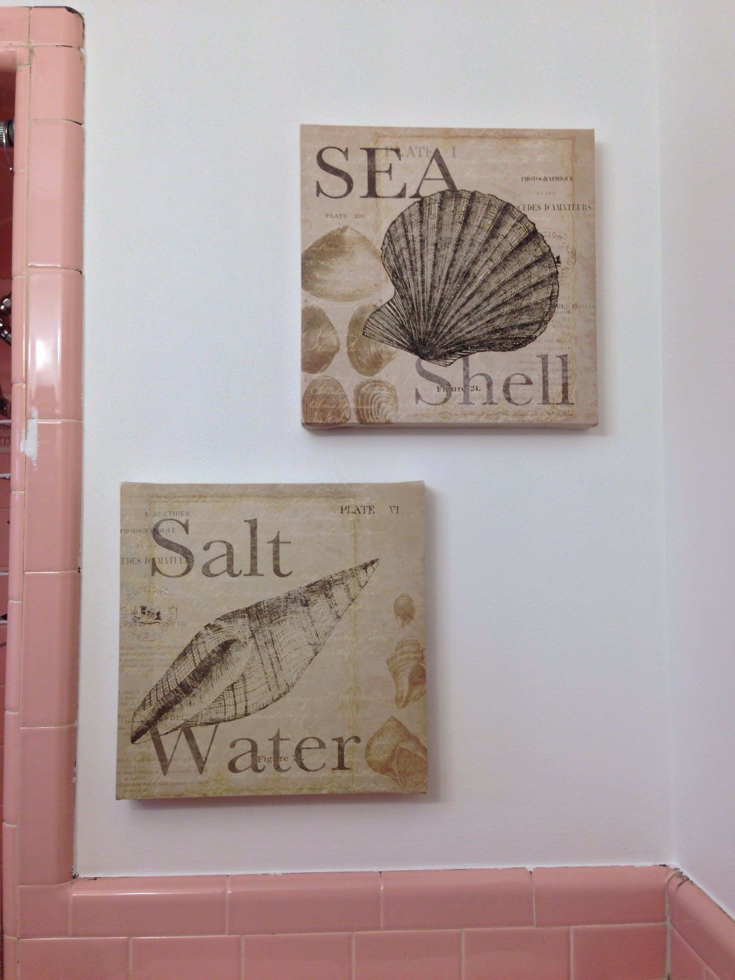 Marshalls Home Decor Awesome Seashell Canvas Wall Art From