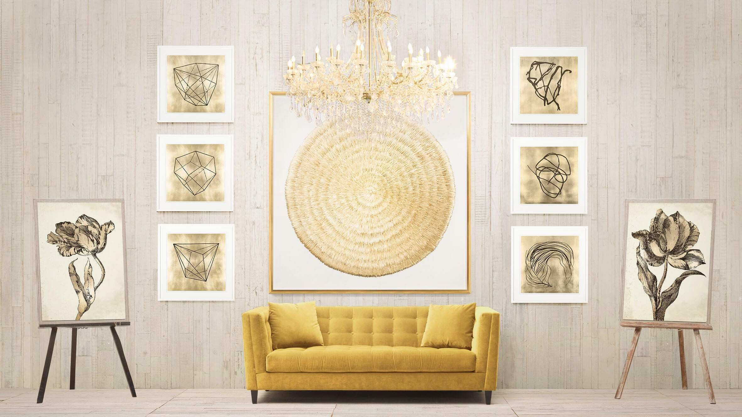 Fancy White And Silver Wall Decor Image Wall Art Collections