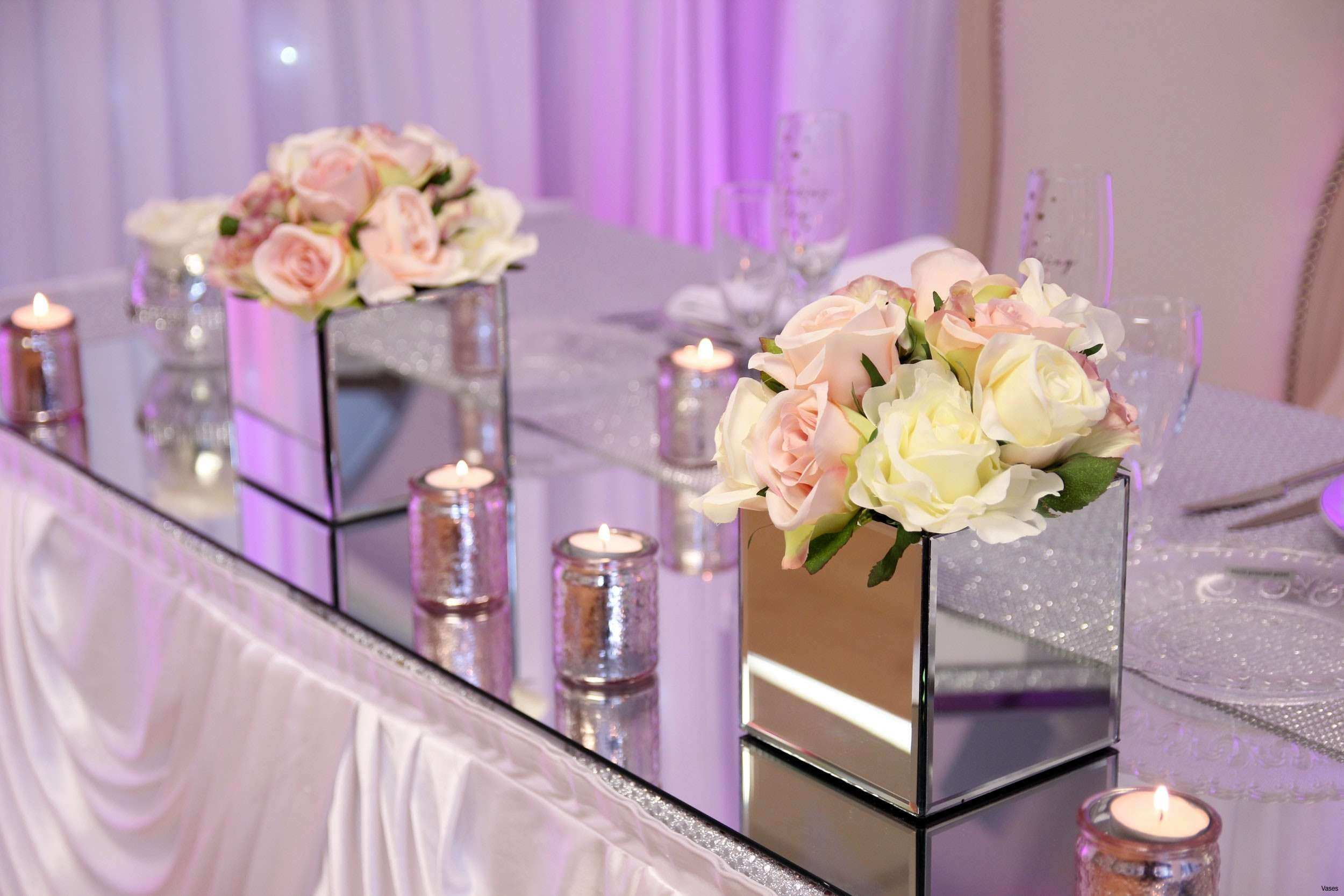 38 Lovely Mirror Centerpieces Ideas Scheme Vintage Wedding Table