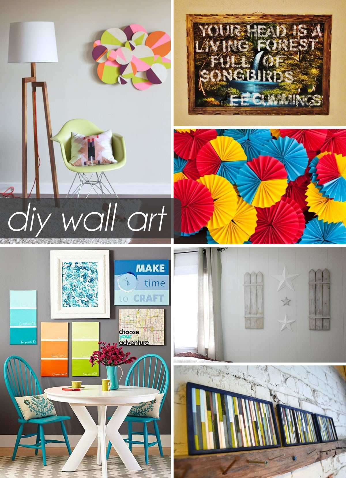 Wall Decoration Ideas Art And Craft Wall Decor Ideas