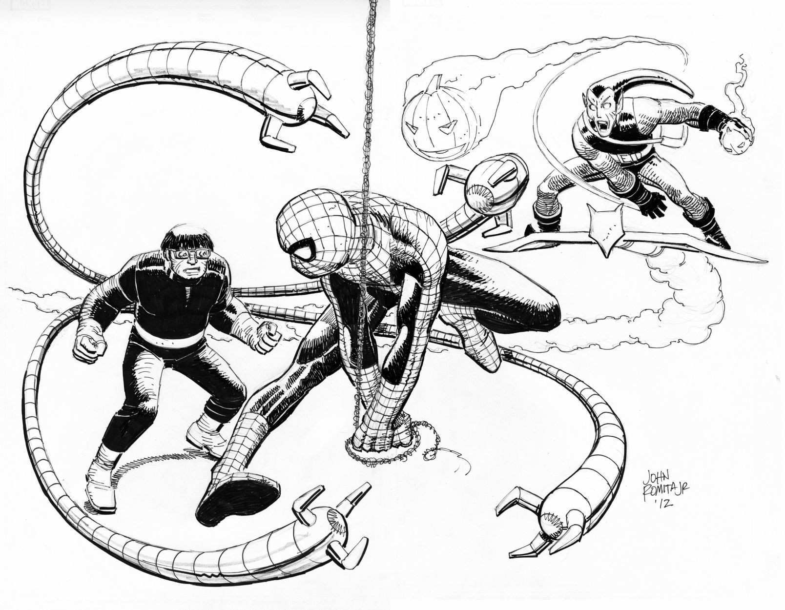 Inspirant Dessins à Imprimer Spiderman