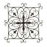 New Square Metal Wall Decor