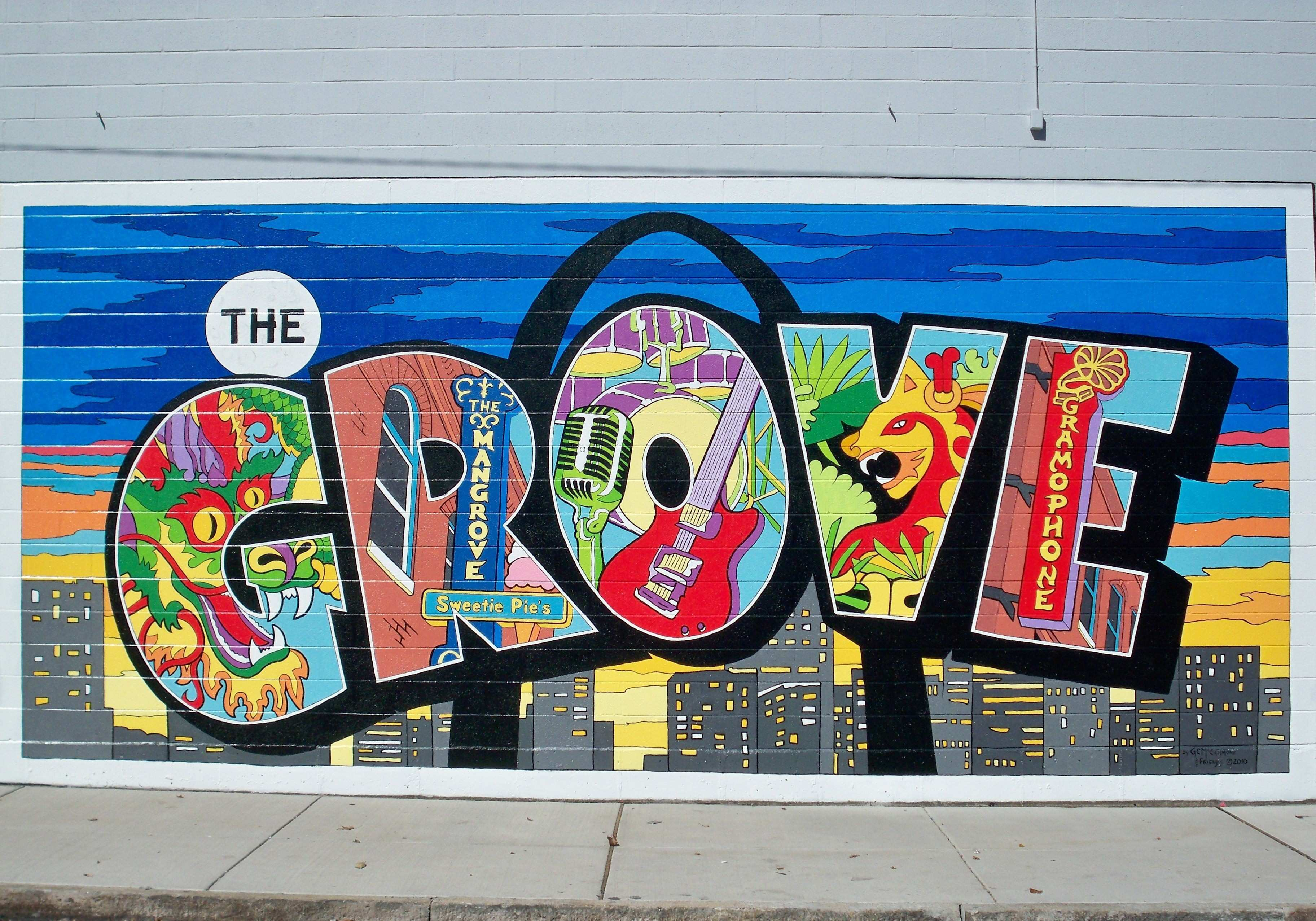 New Paint by Numbers Mural A Big Hit at Grove Fest 5 Medical Center