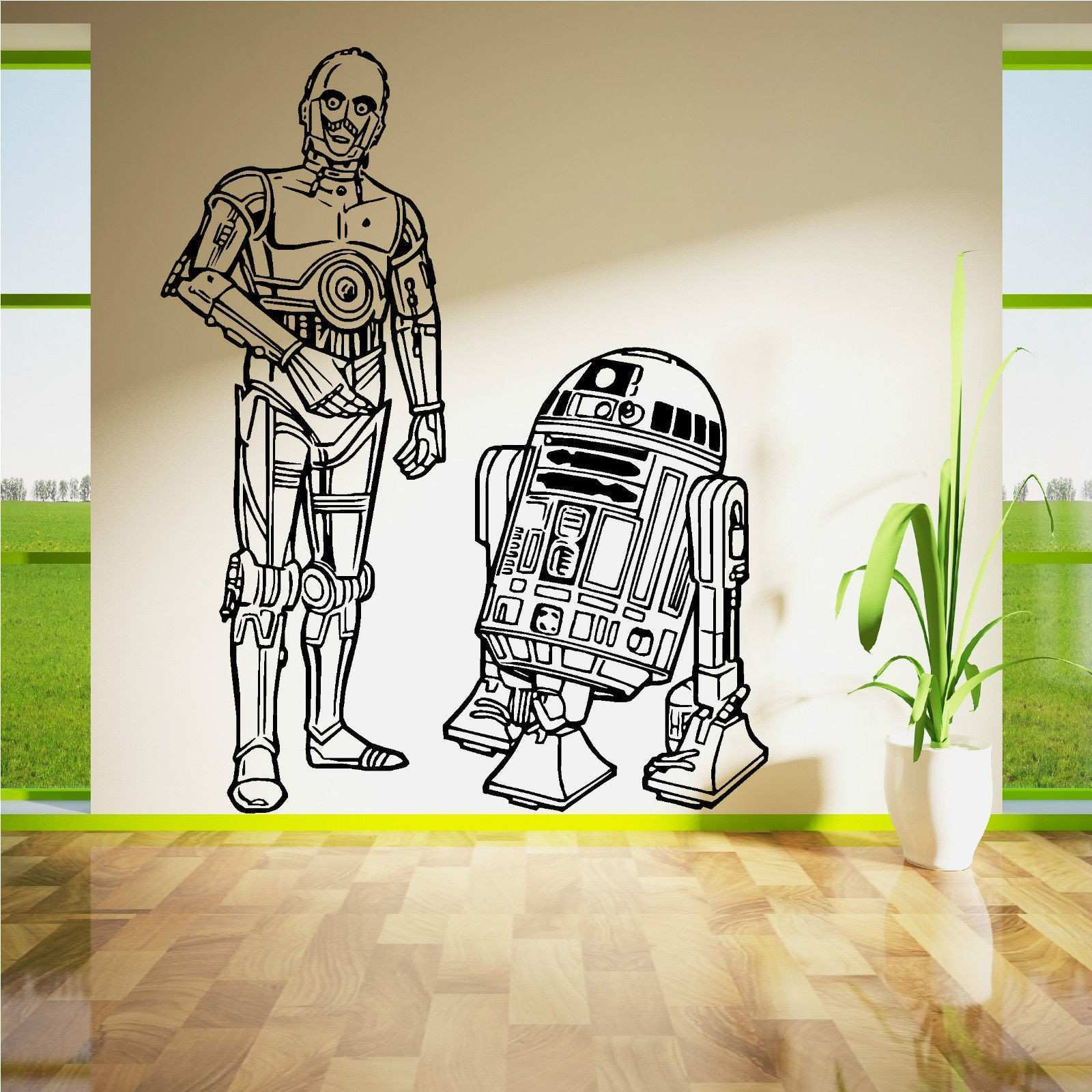 AT AT Walker Wall Vinyl Decal Star Wars Poster Sticker Home Interior