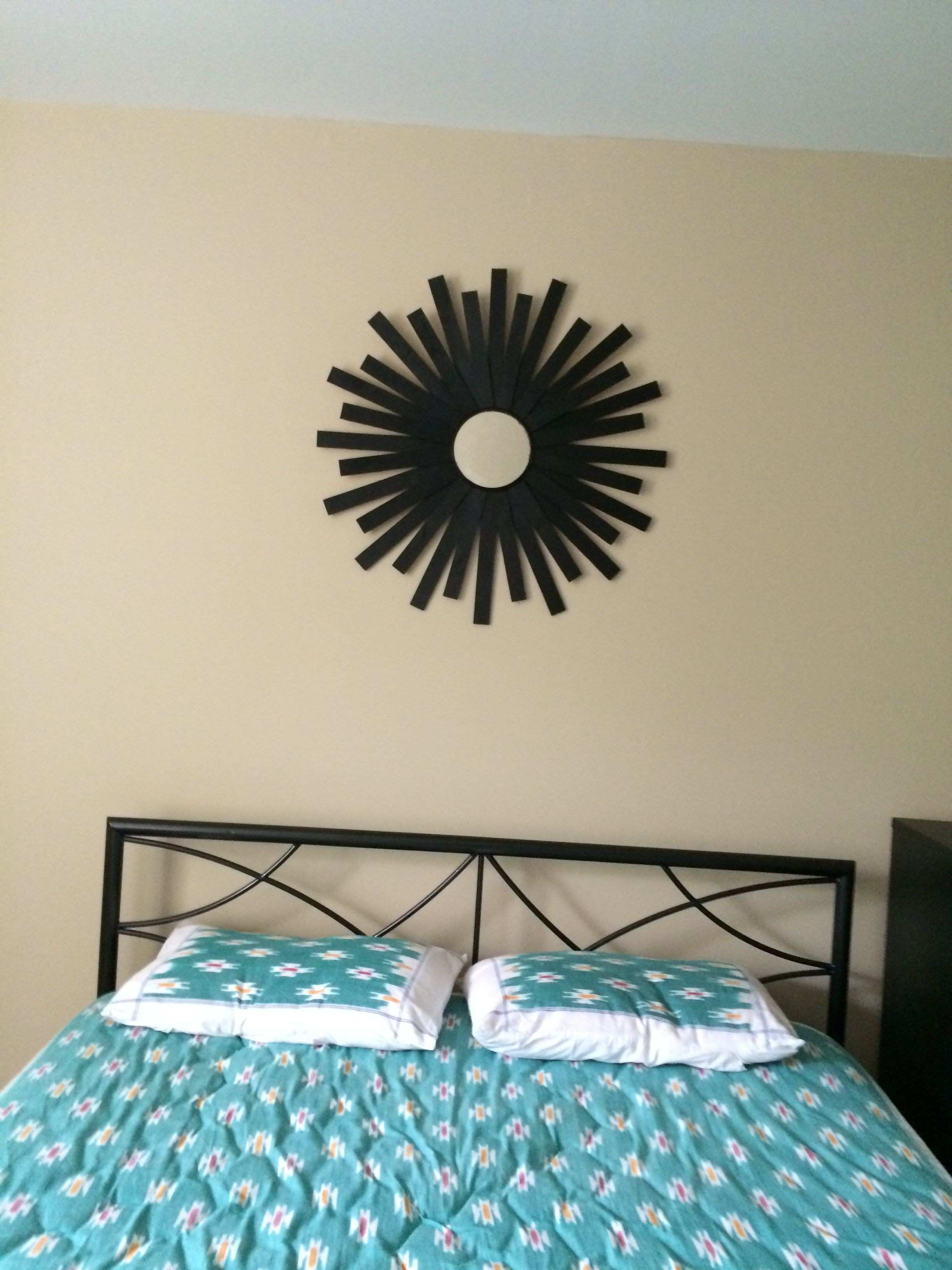 Sunburst mirror in my bedroom MY HobbyLobby Pinterest
