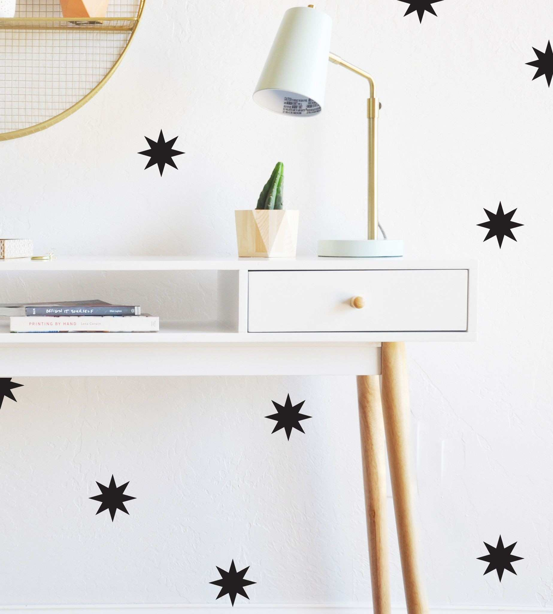 Open Magical Starbursts WALL DECAL