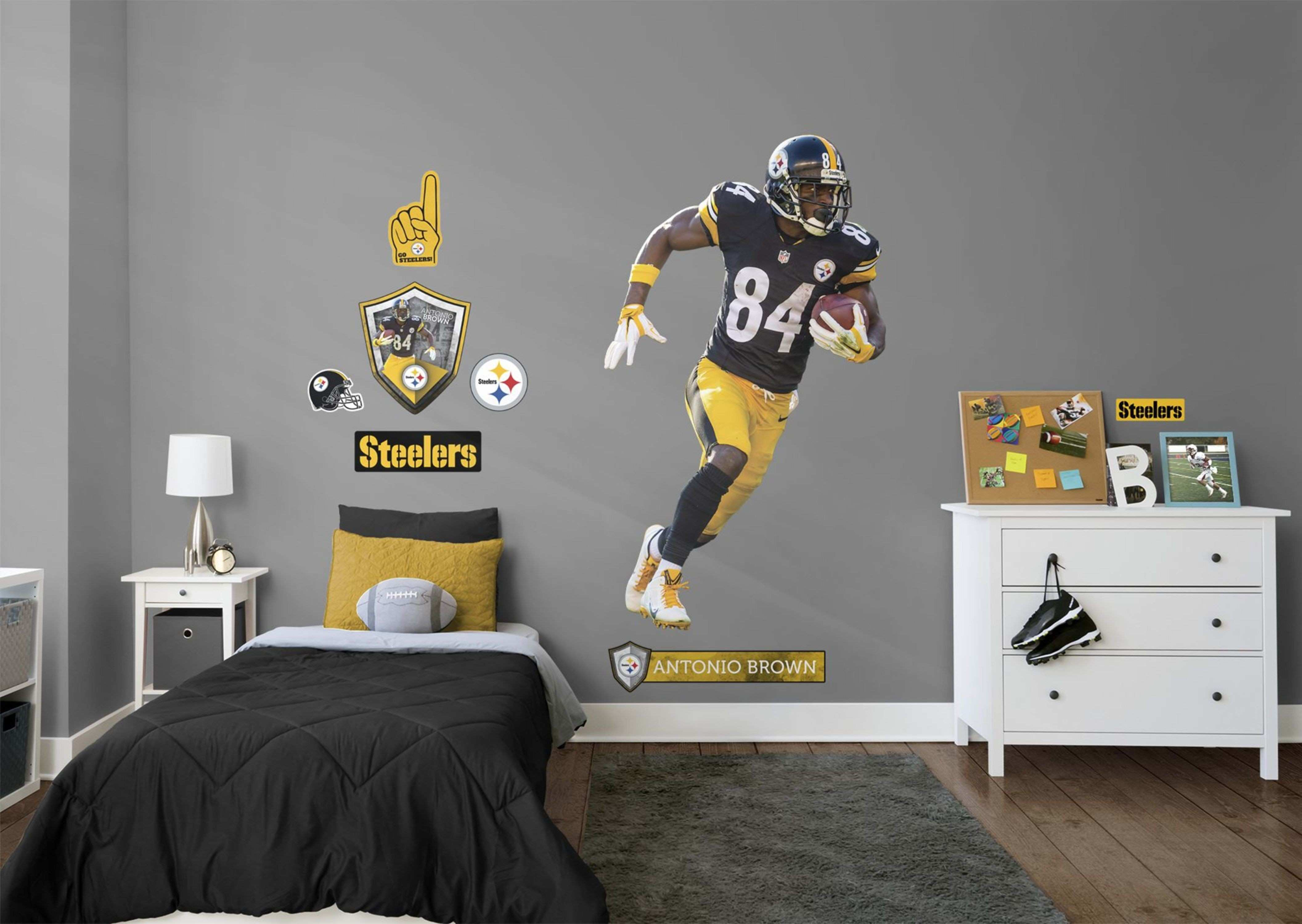 34 Beautiful Steelers Wall Decals
