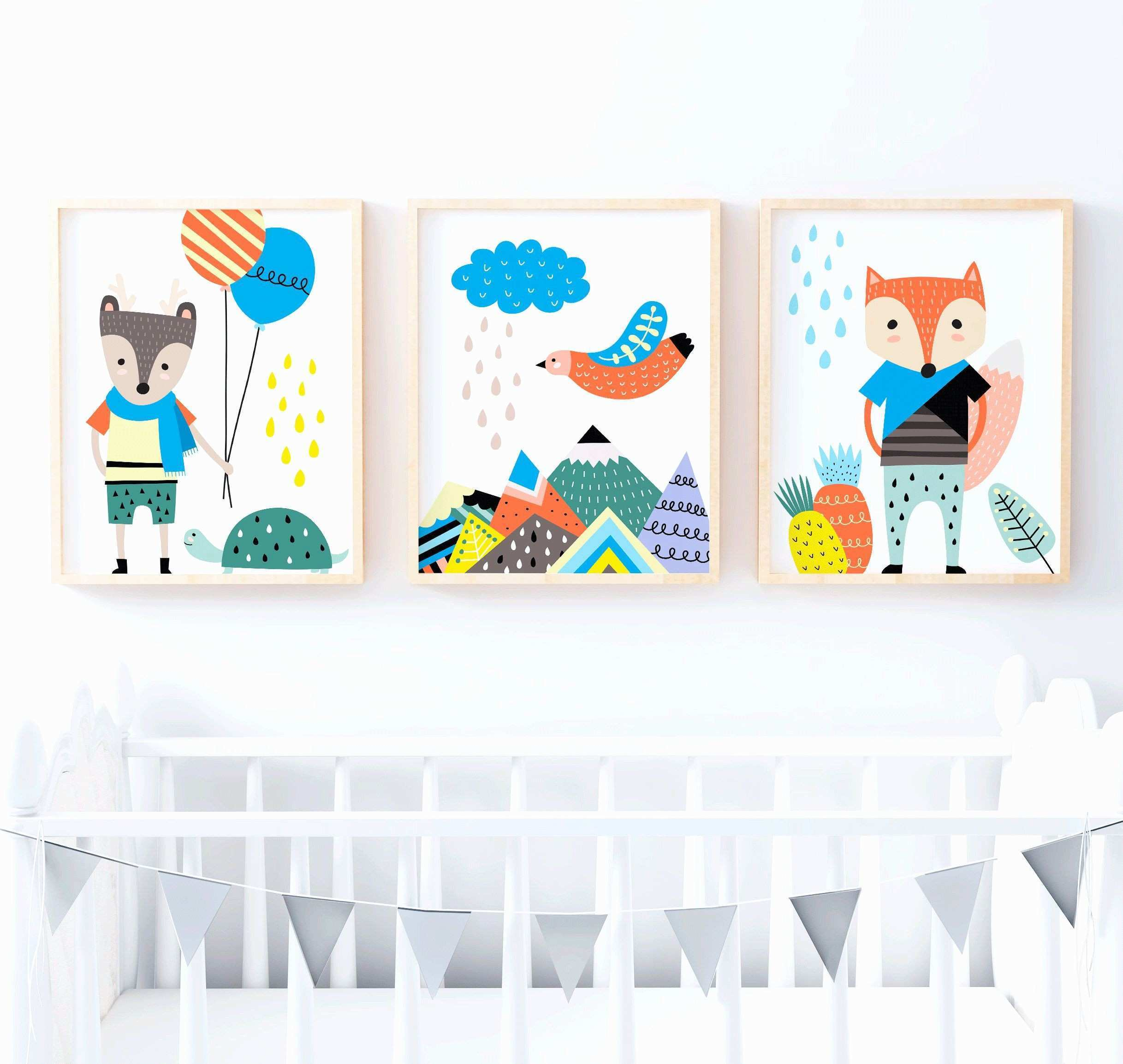 Kids Room Wall Art Stickers Toddler Room Decor Childrens Wall