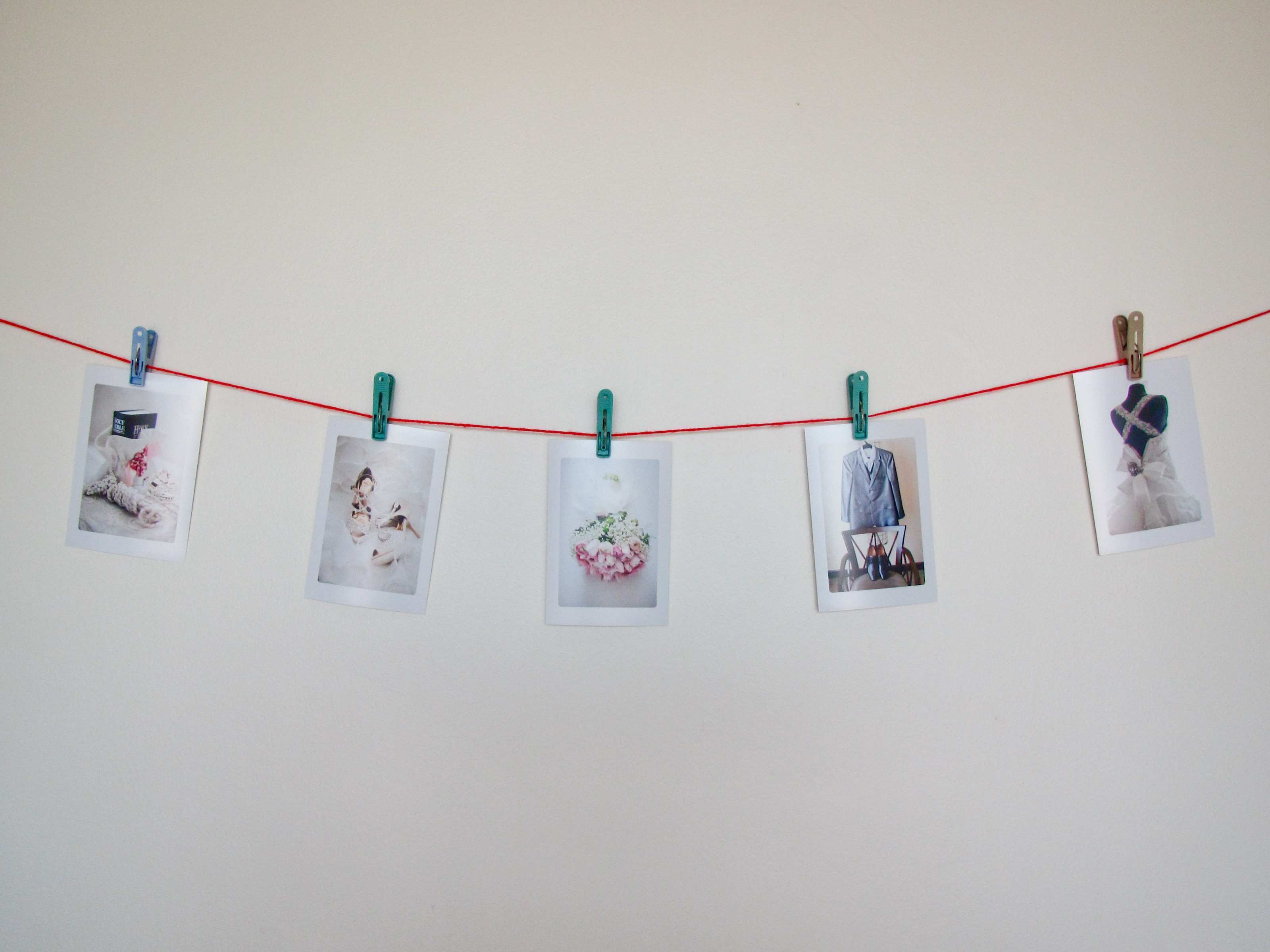 How to Make a Picture Clothesline 6 Steps with