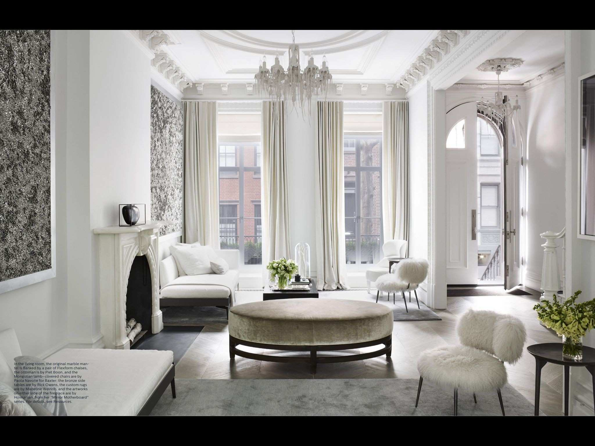 "Clean Sweep Rachel Lee Hovnanian"" from ELLE Decor March 2017 Read"