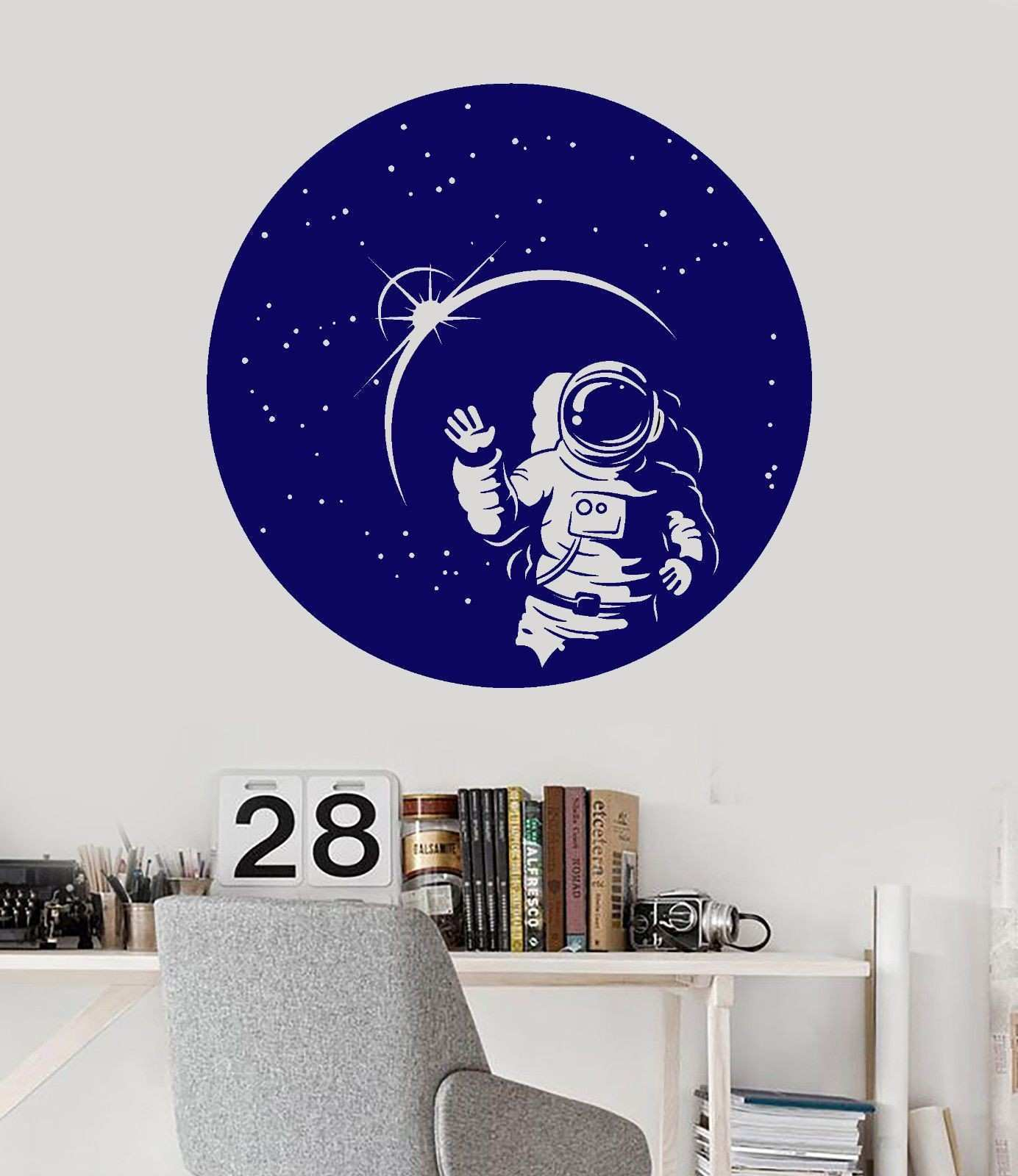 Unique Wall Decals Moon and Stars
