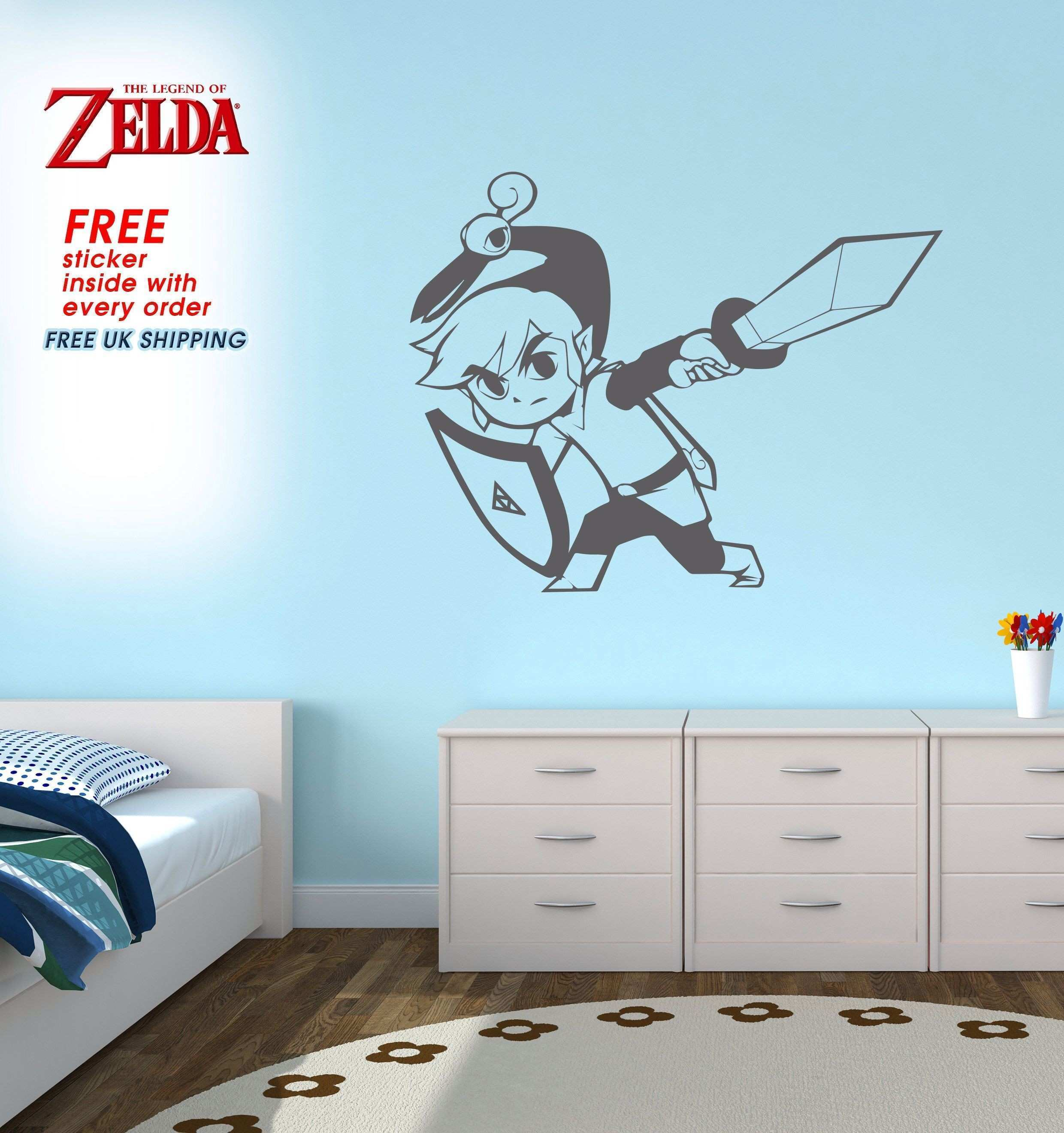 New Baby Groot Wall Decal