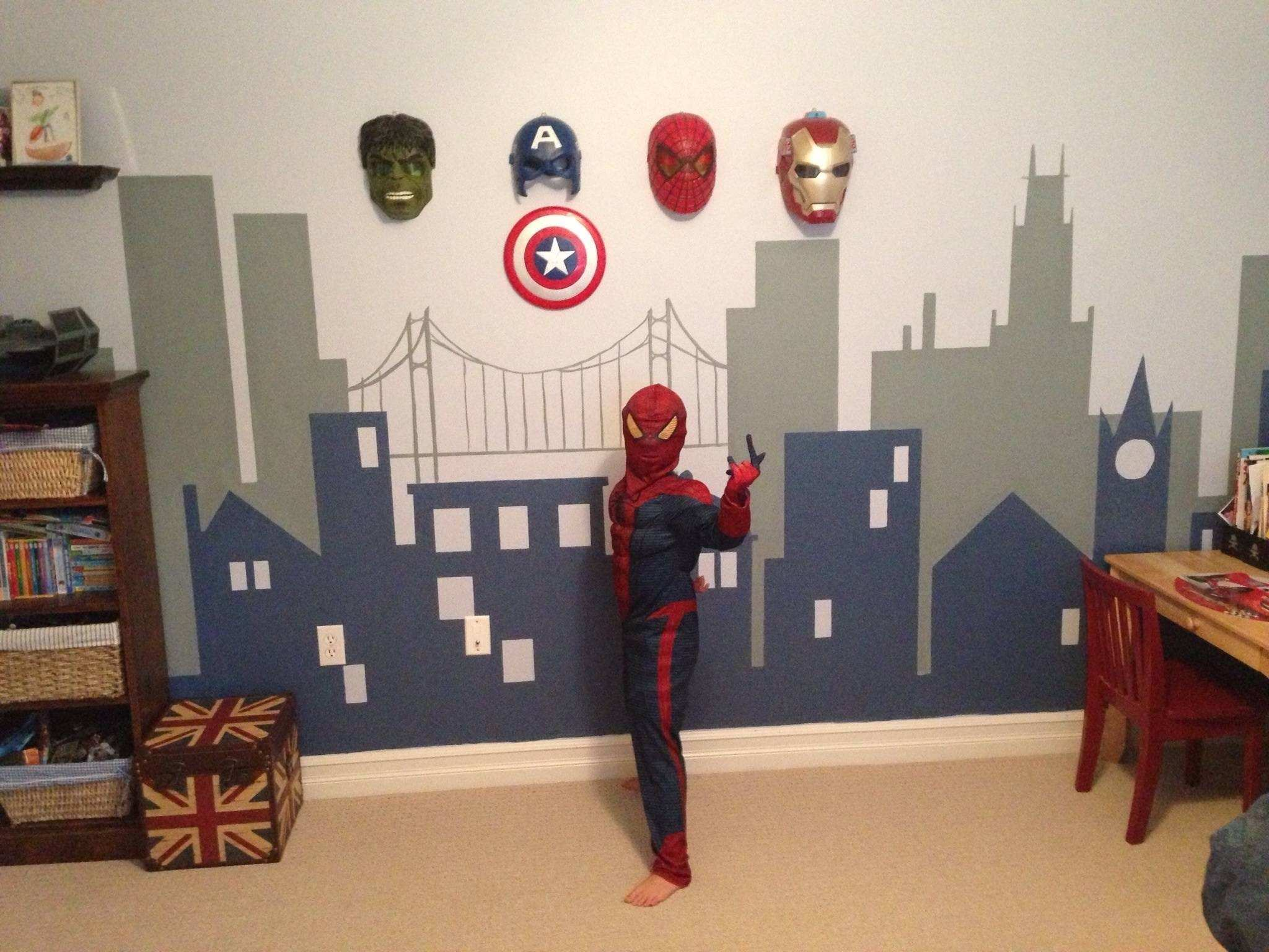 Superhero Wall Decor talentneeds
