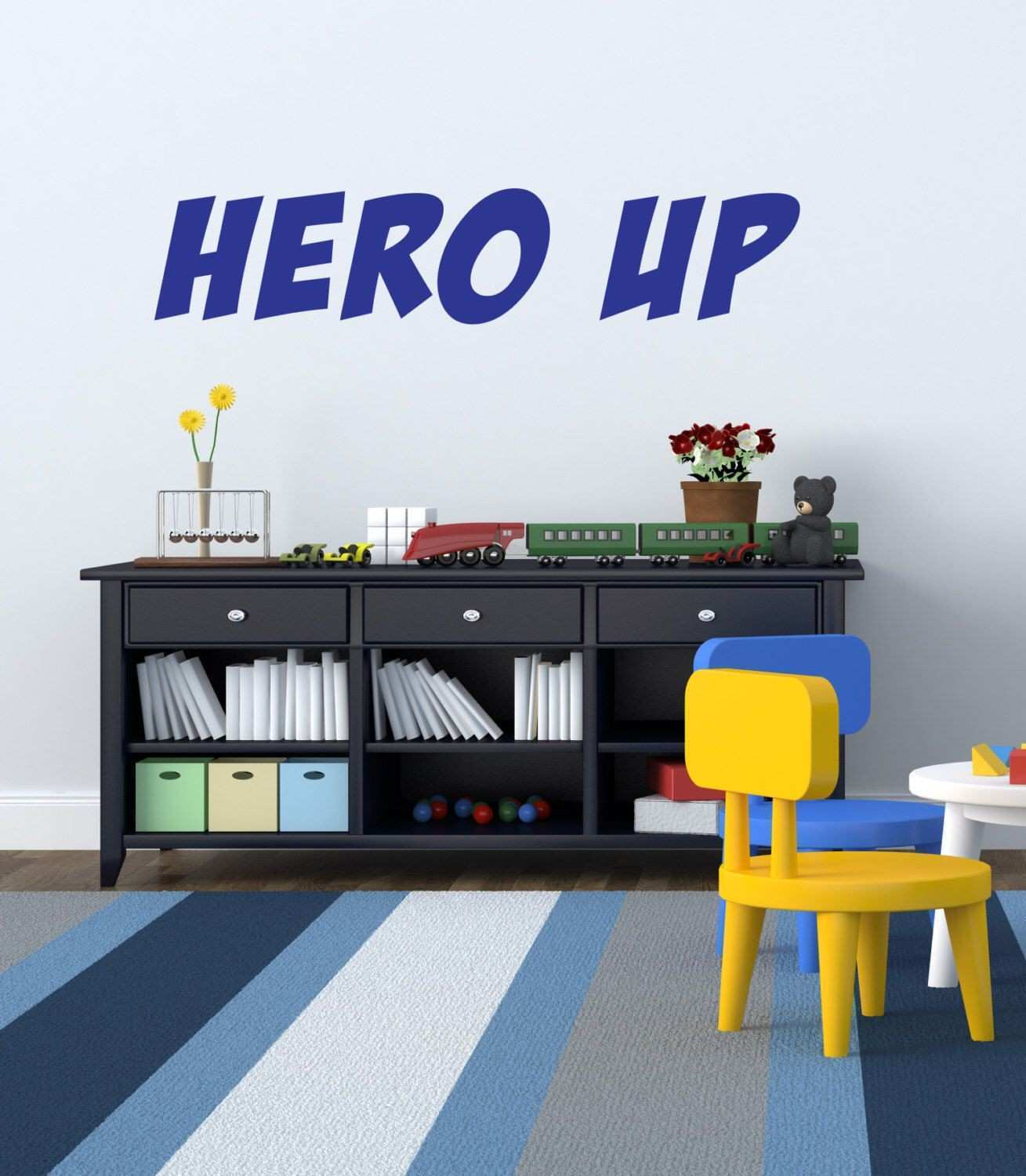 Hero Up Wall Decal Super Hero Squad Decor Vinyl Decal Sticker for