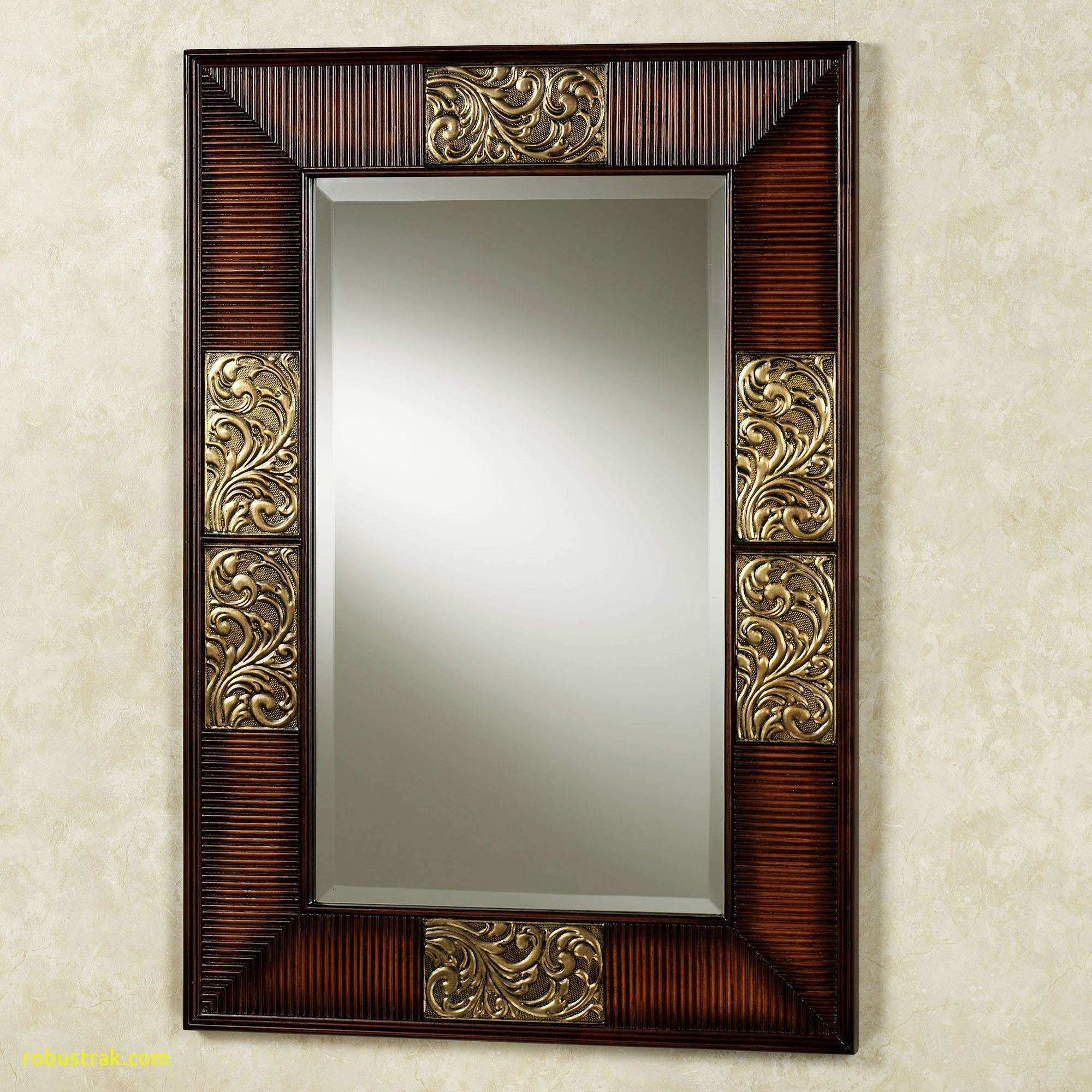 Awesome Black and Gold Wall Mirror