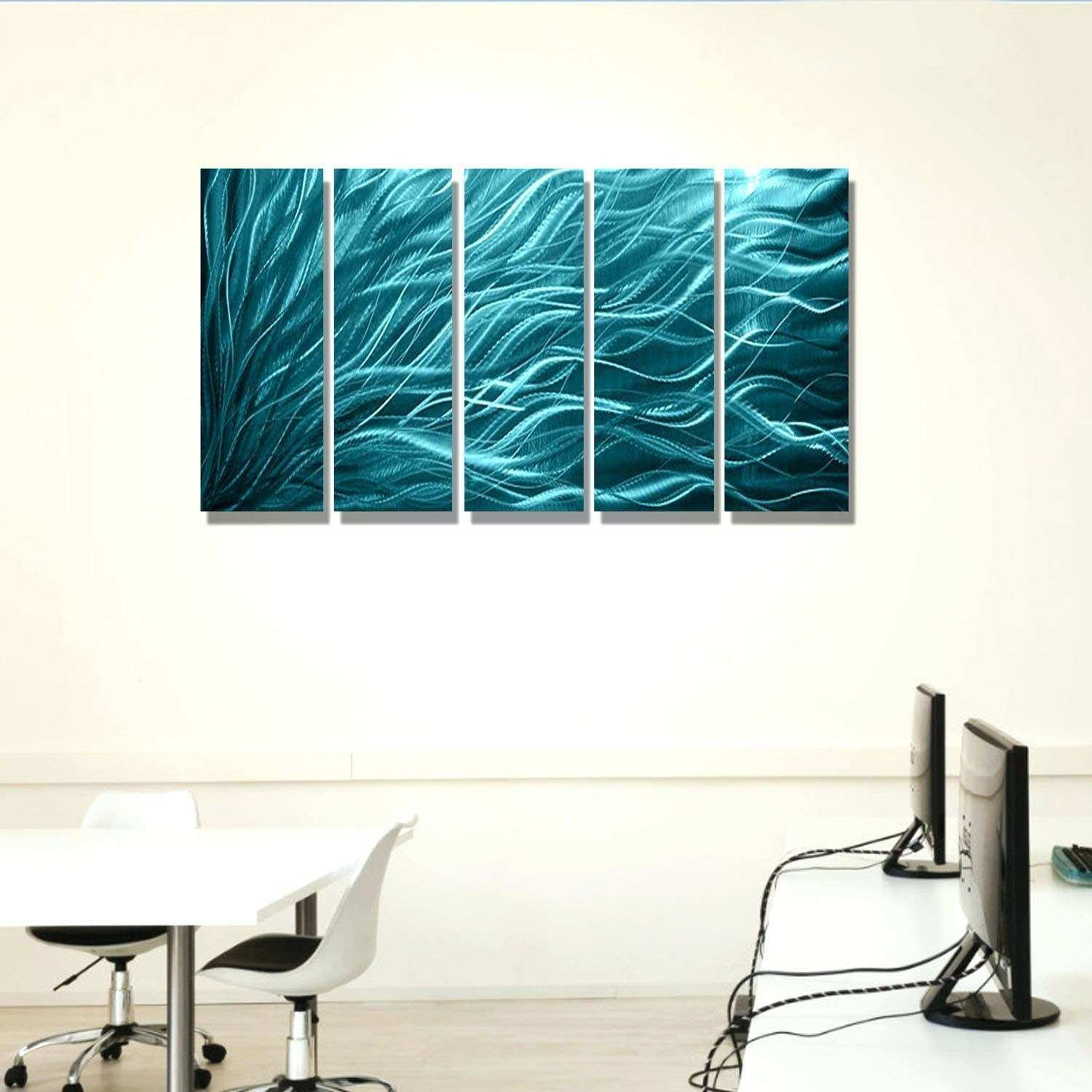 Turquoise Bedroom Decor Best Metal Wall Art Panels Fresh 1
