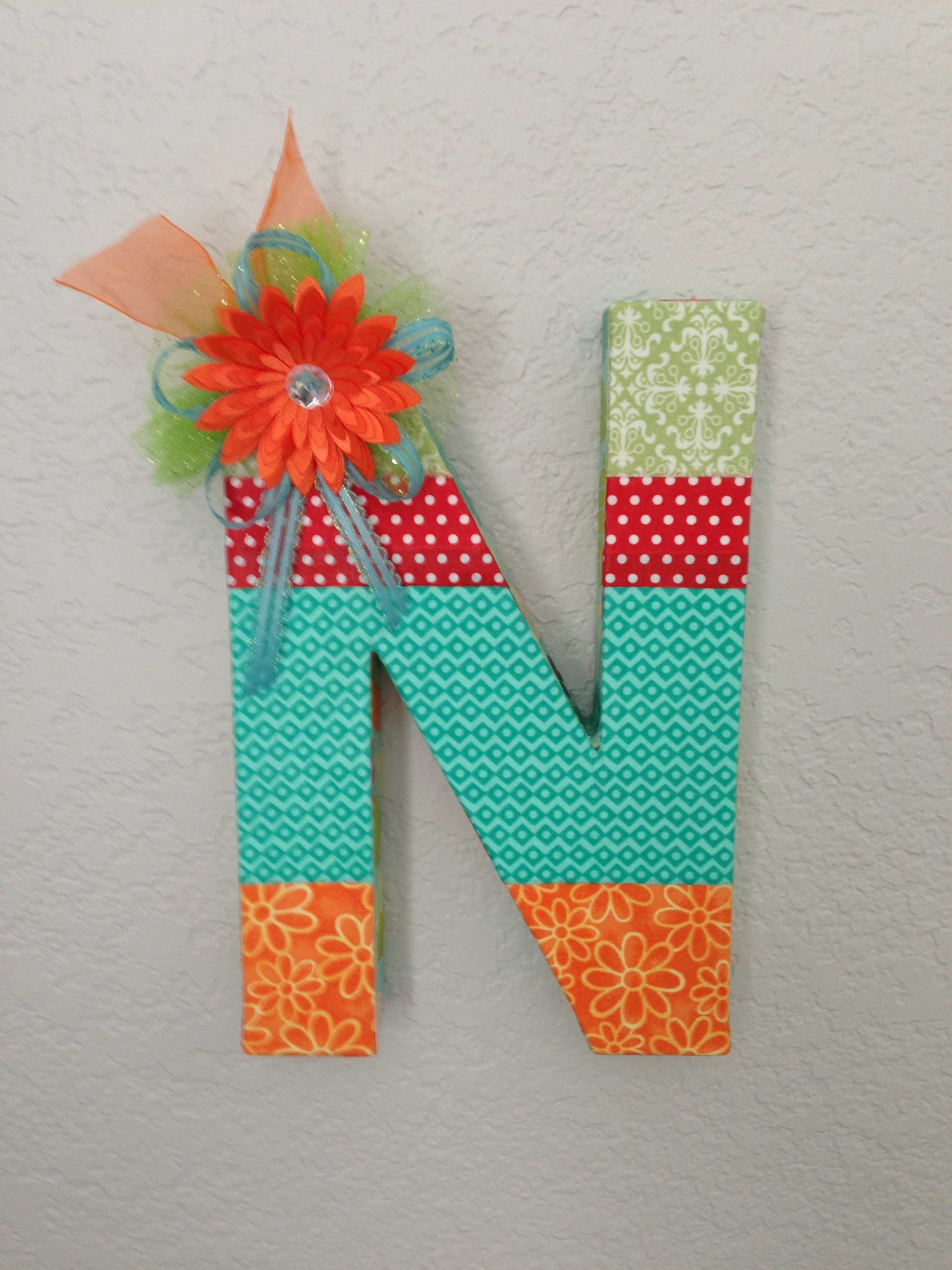 letter n wall decor Criedineassistant