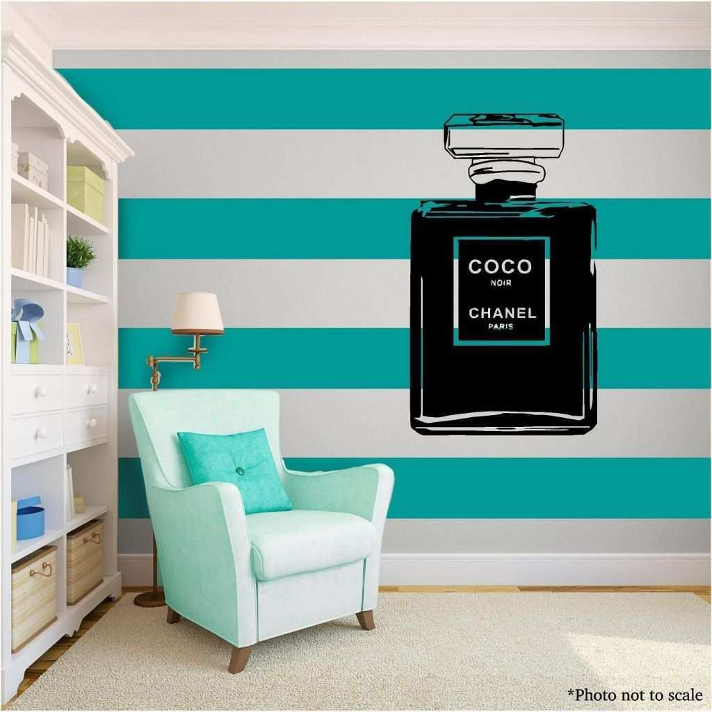 Teal and Gold Wall Art Luxury Coco Chanel Love Family Vinyl Wall Art Quote Home Decor Decal Word
