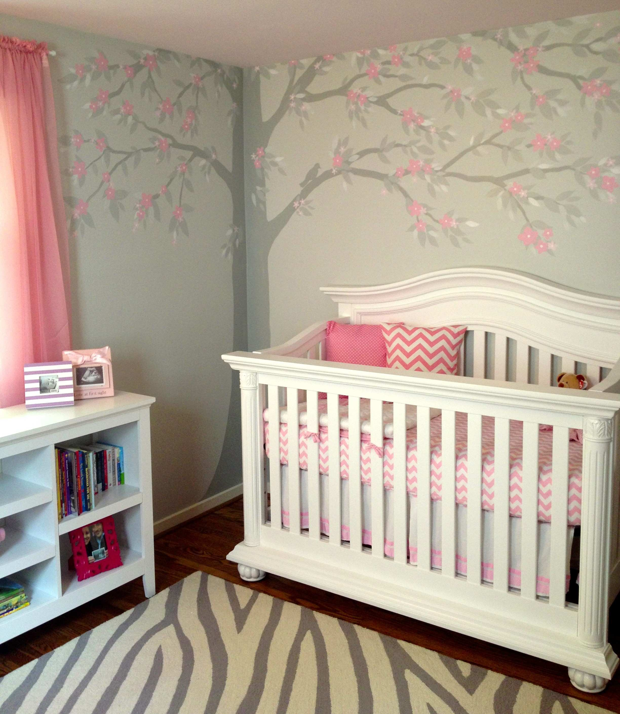 Breathtaking Gray Wall Nursery Gallery Best Picture Interior