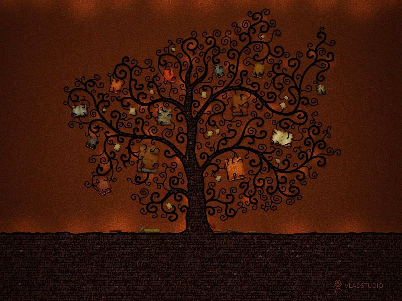 We all have within us at birth the seeds for a tree of knowledge