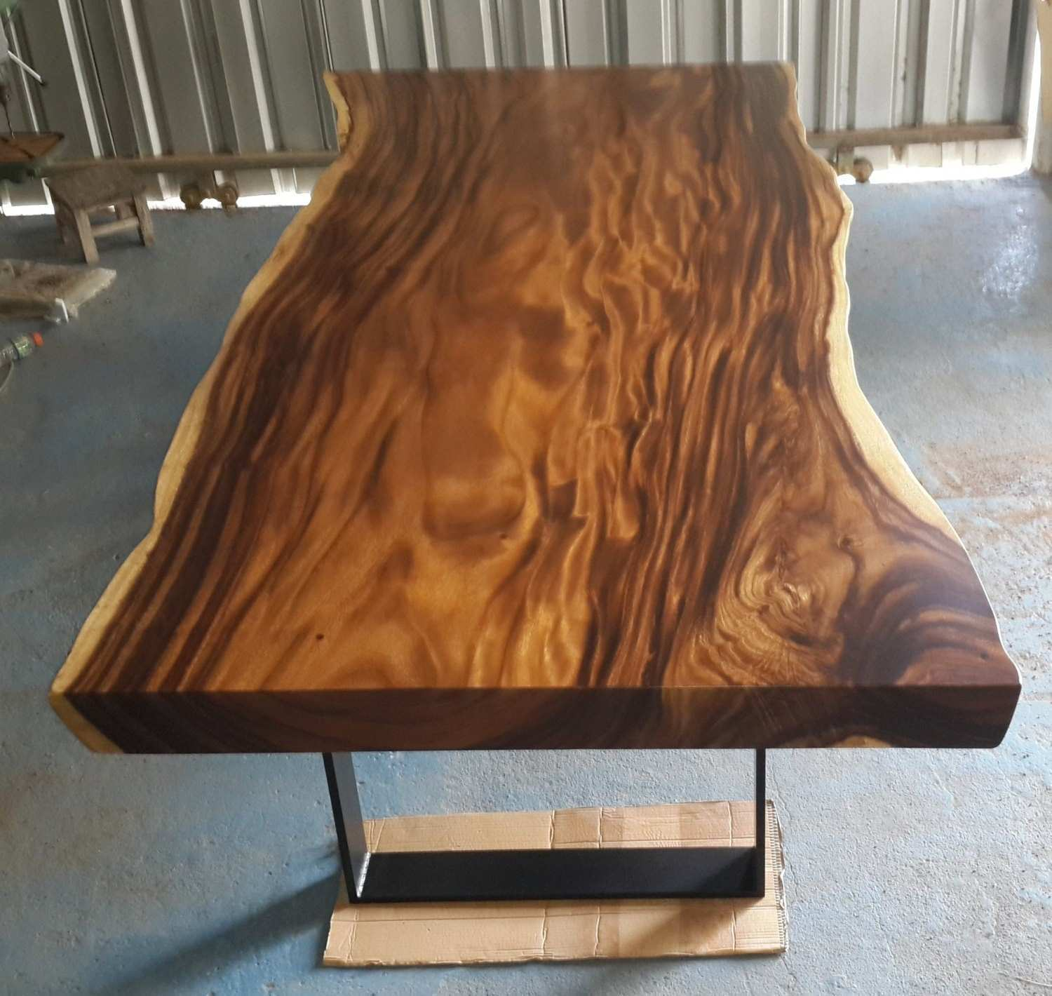 Teak Slab Dining Table Choice Image Round Dining Room Tables