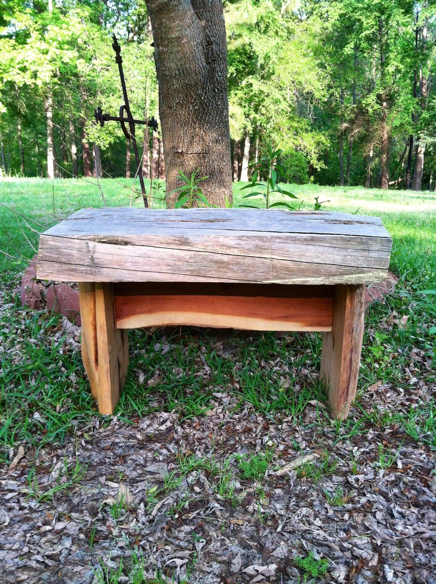 Rustic Cedar Bench SOLD Rustic Pinterest