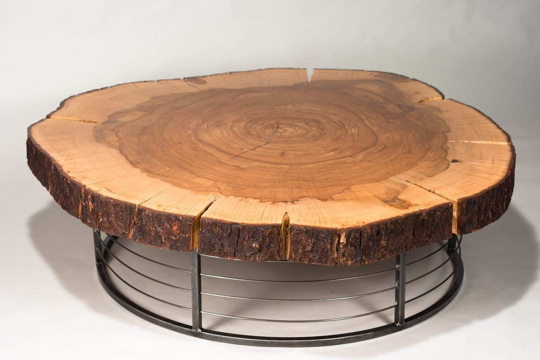Marvelous Coffee Table Winsome Tree With Top Glass Image Trunk