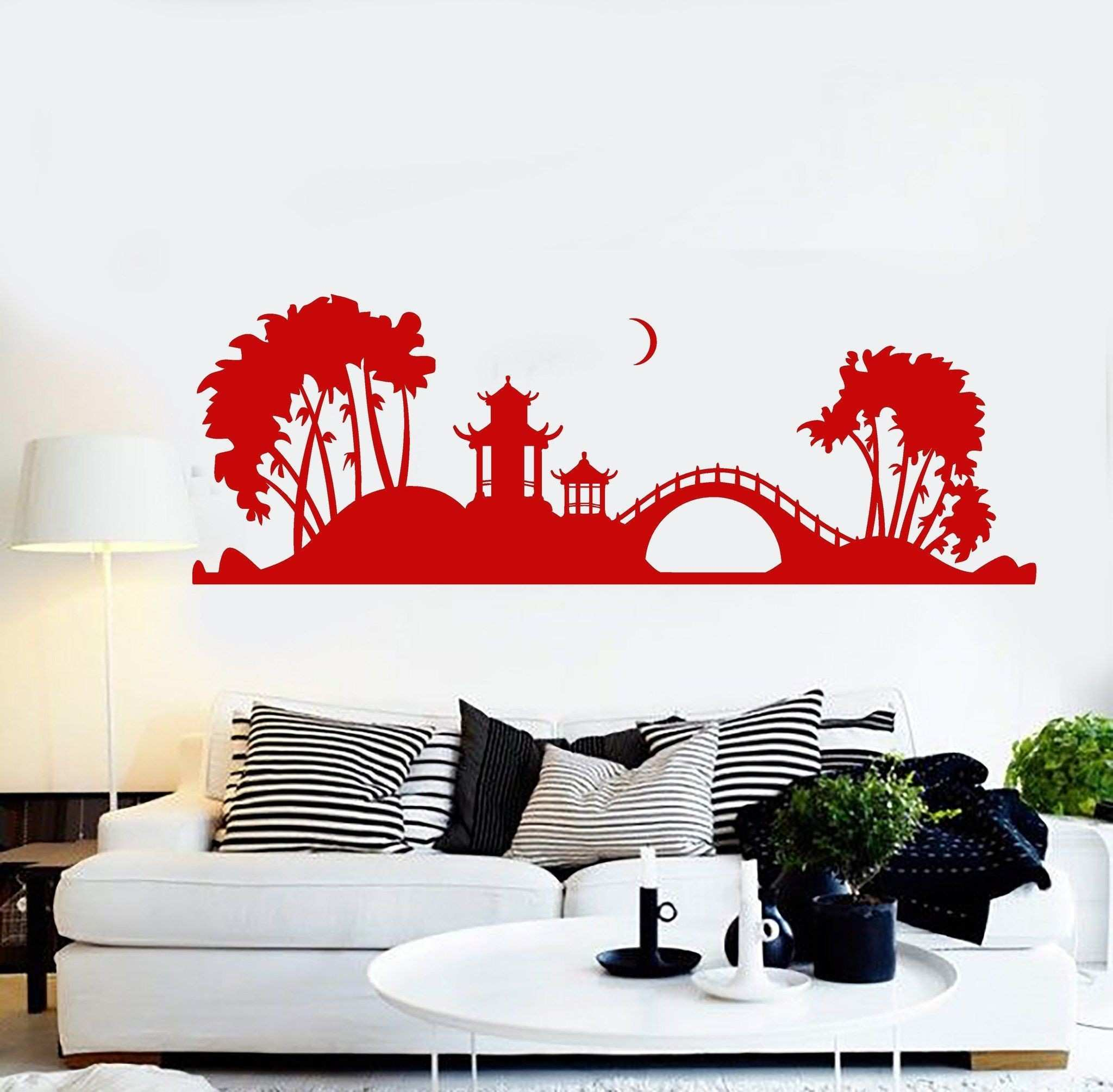 New Red Wings Wall Decal