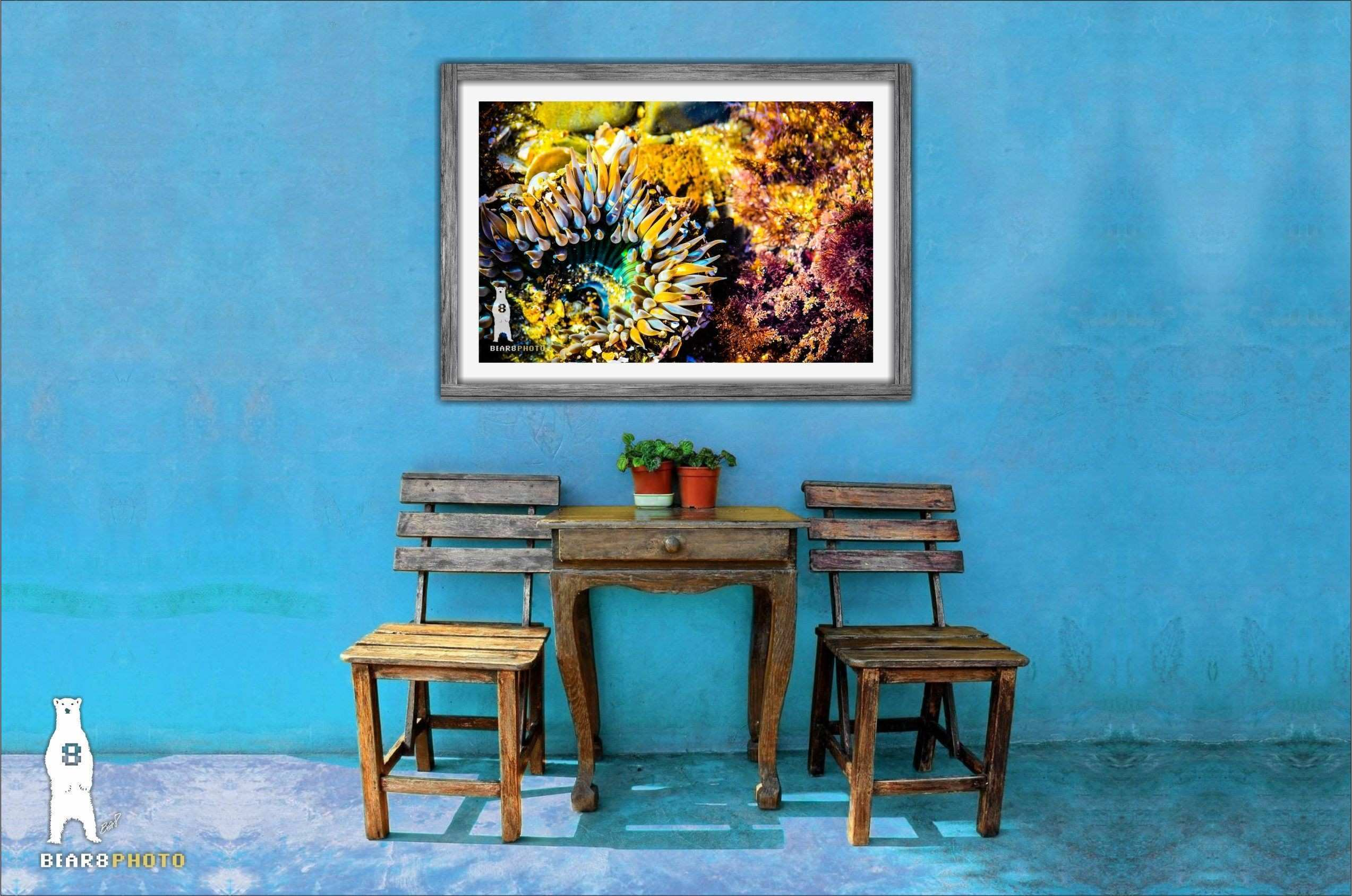 Modern Wall Art Beach Decor Colorful Decor Ocean Art Print Sea