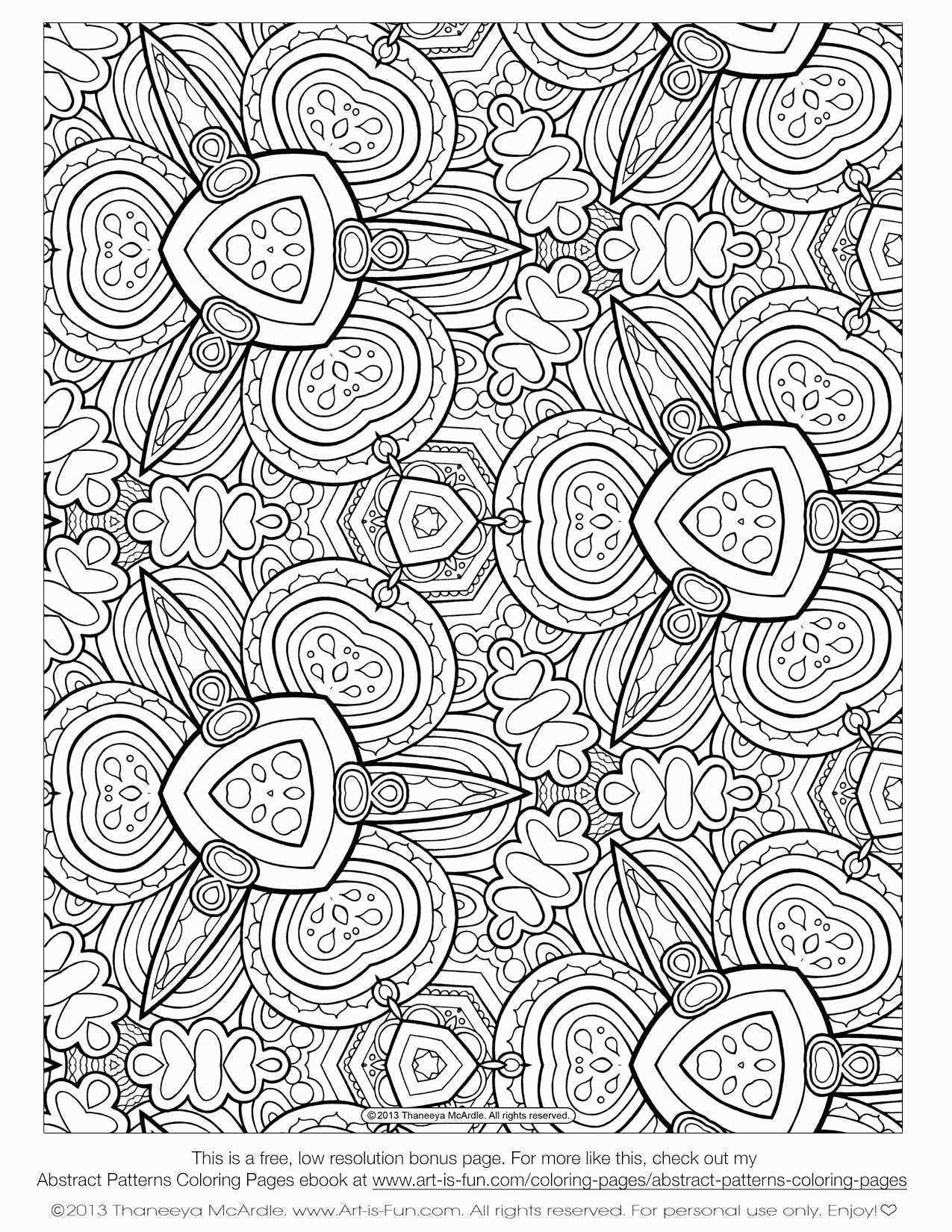 Coloring Pages Patterns Animals Awesome Tropical Fish Coloring Pages