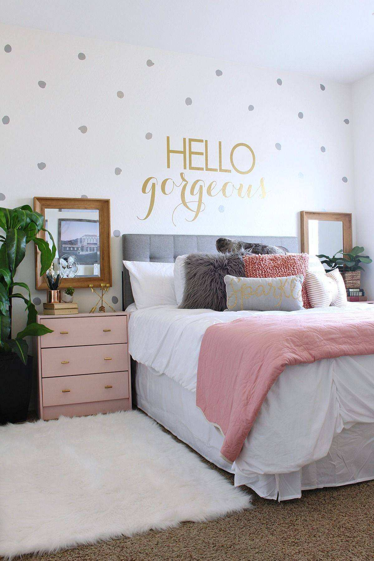 52 Awesome Wall Decor Teenage Girl Bedroom