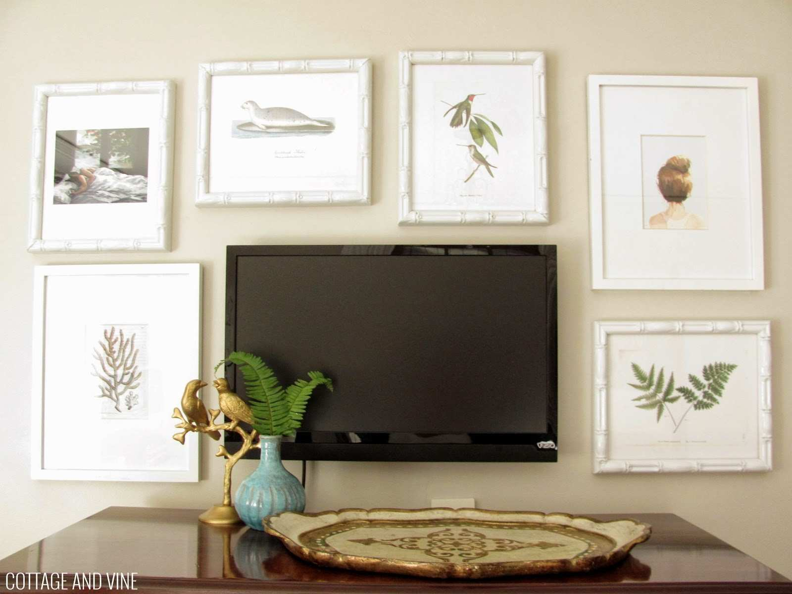Decorating Around a TV 6 Inspiring Ideas First Apartment Checklist