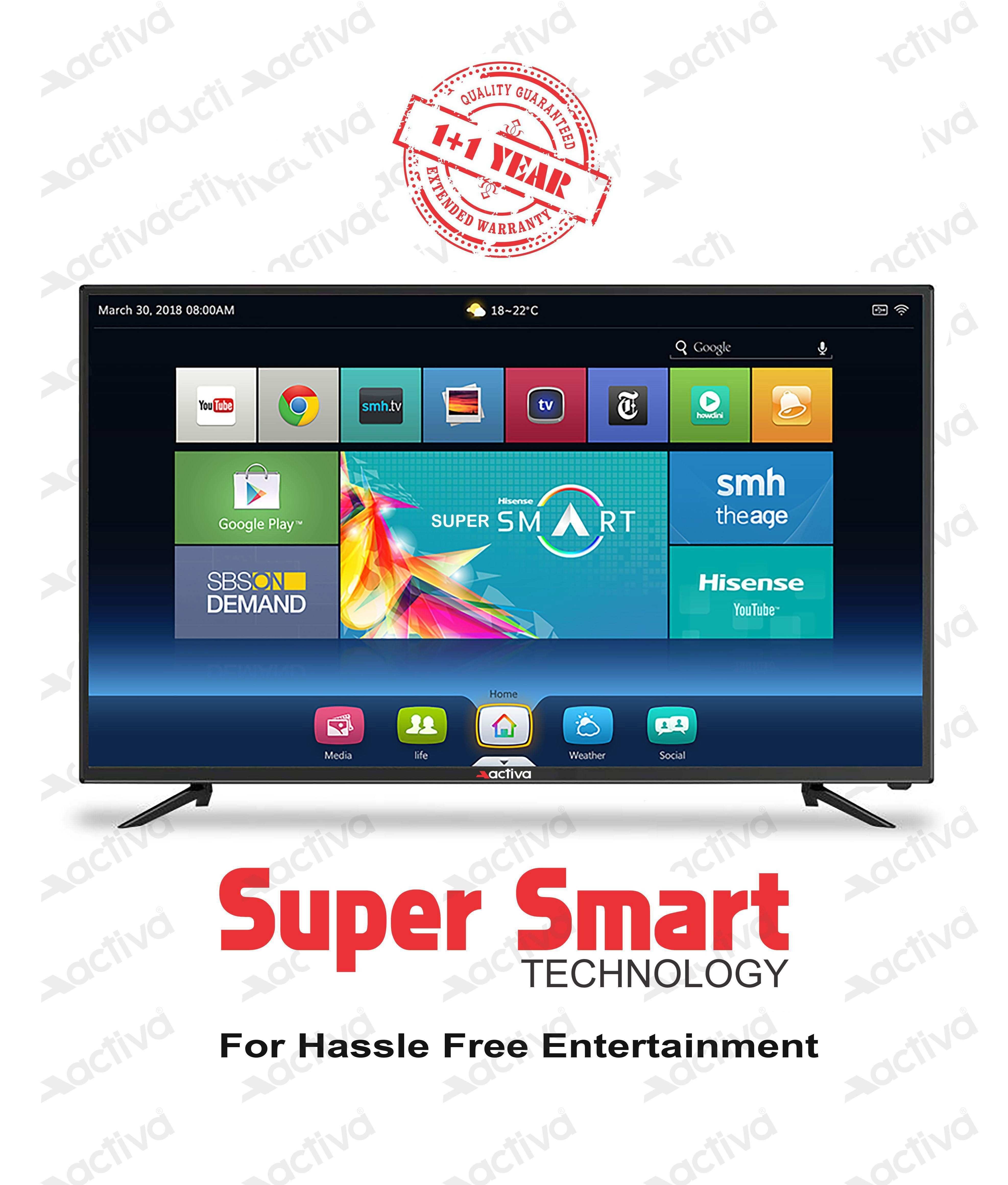 Buy Activa ACT 40 SMART 102 cm 40 Full HD FHD LED Television