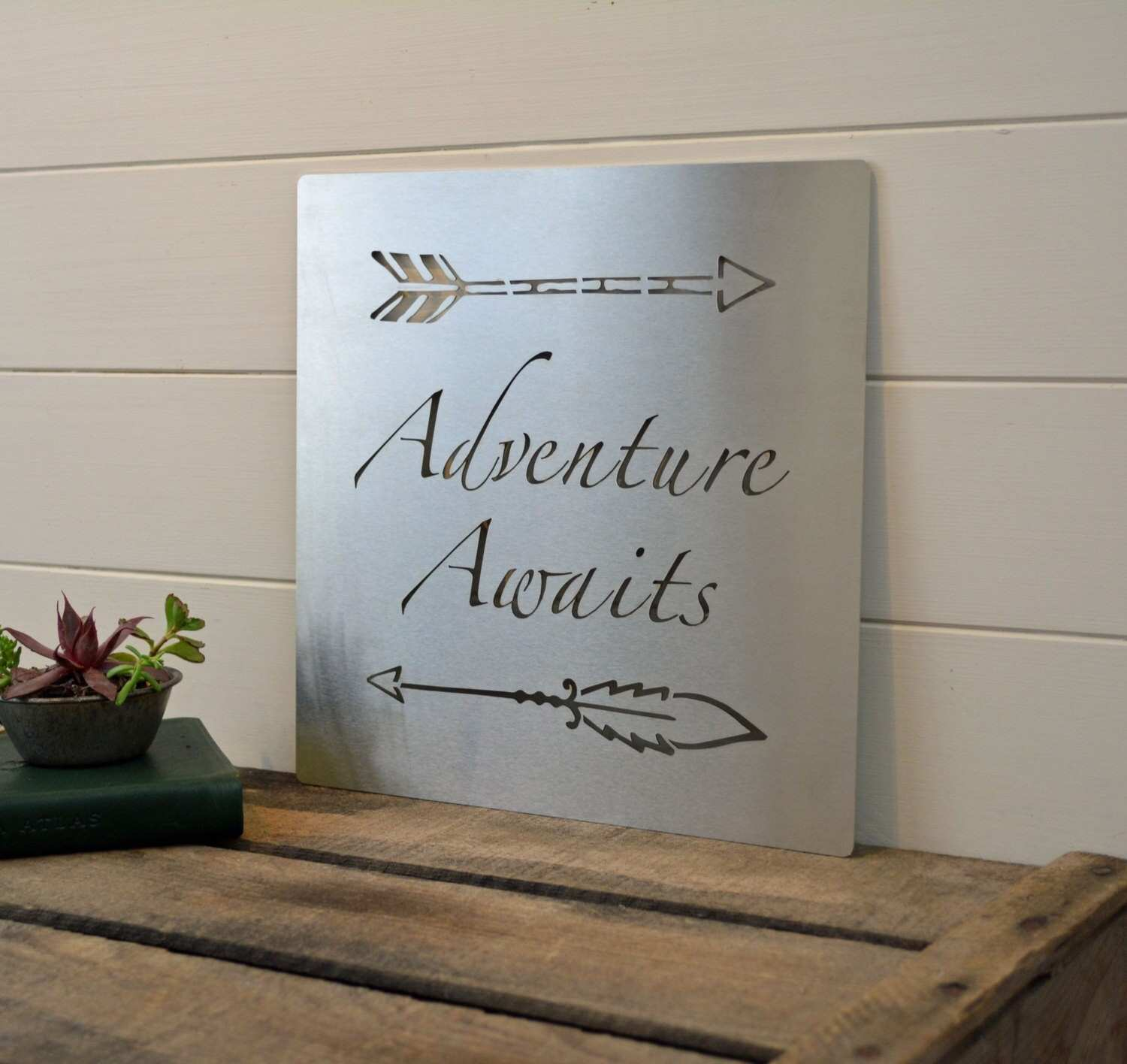 wall decor Industrial HOME Sign Marquee Word Letters Plastic